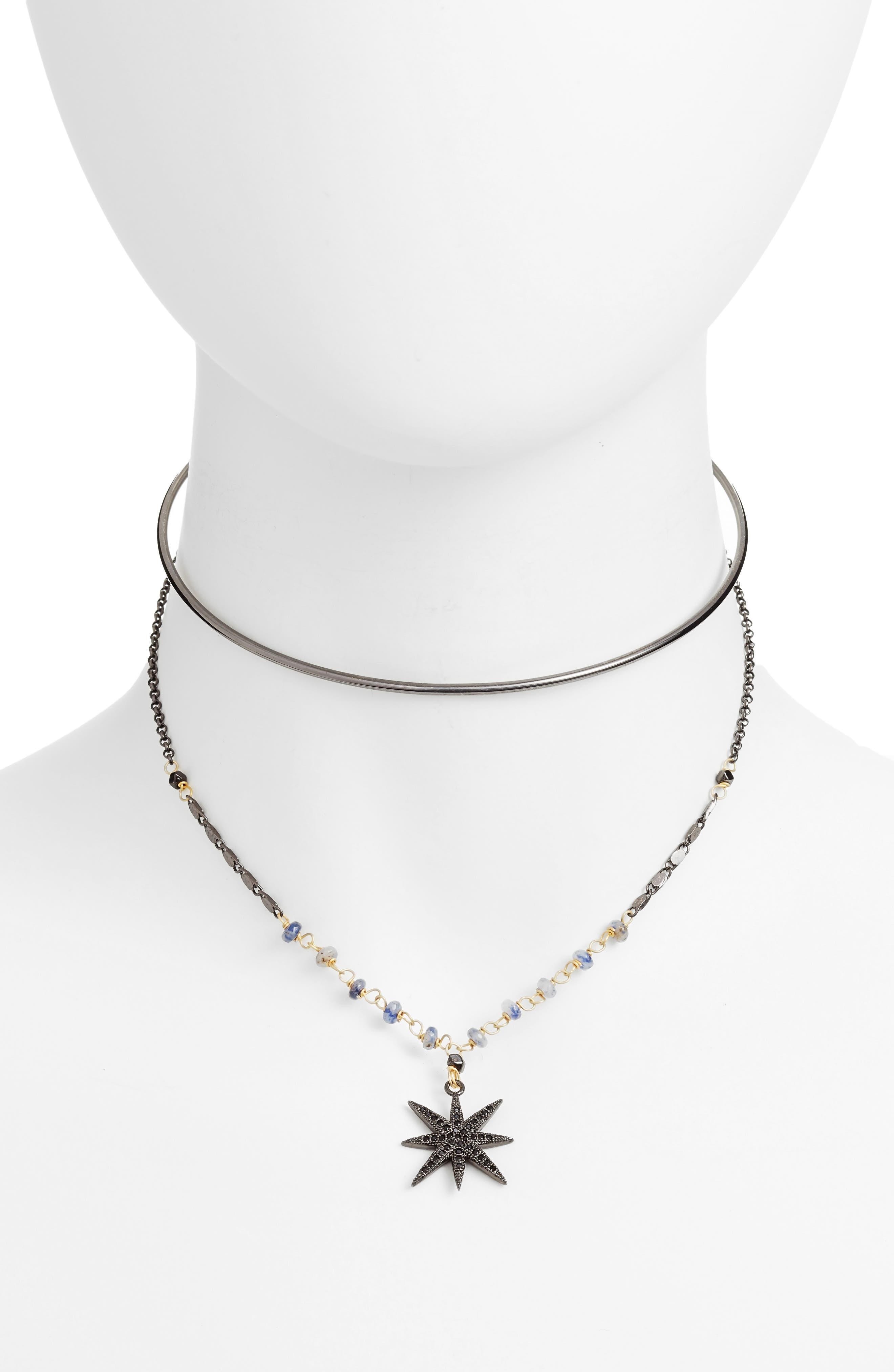 Layered Choker Necklace,                             Main thumbnail 1, color,                             300