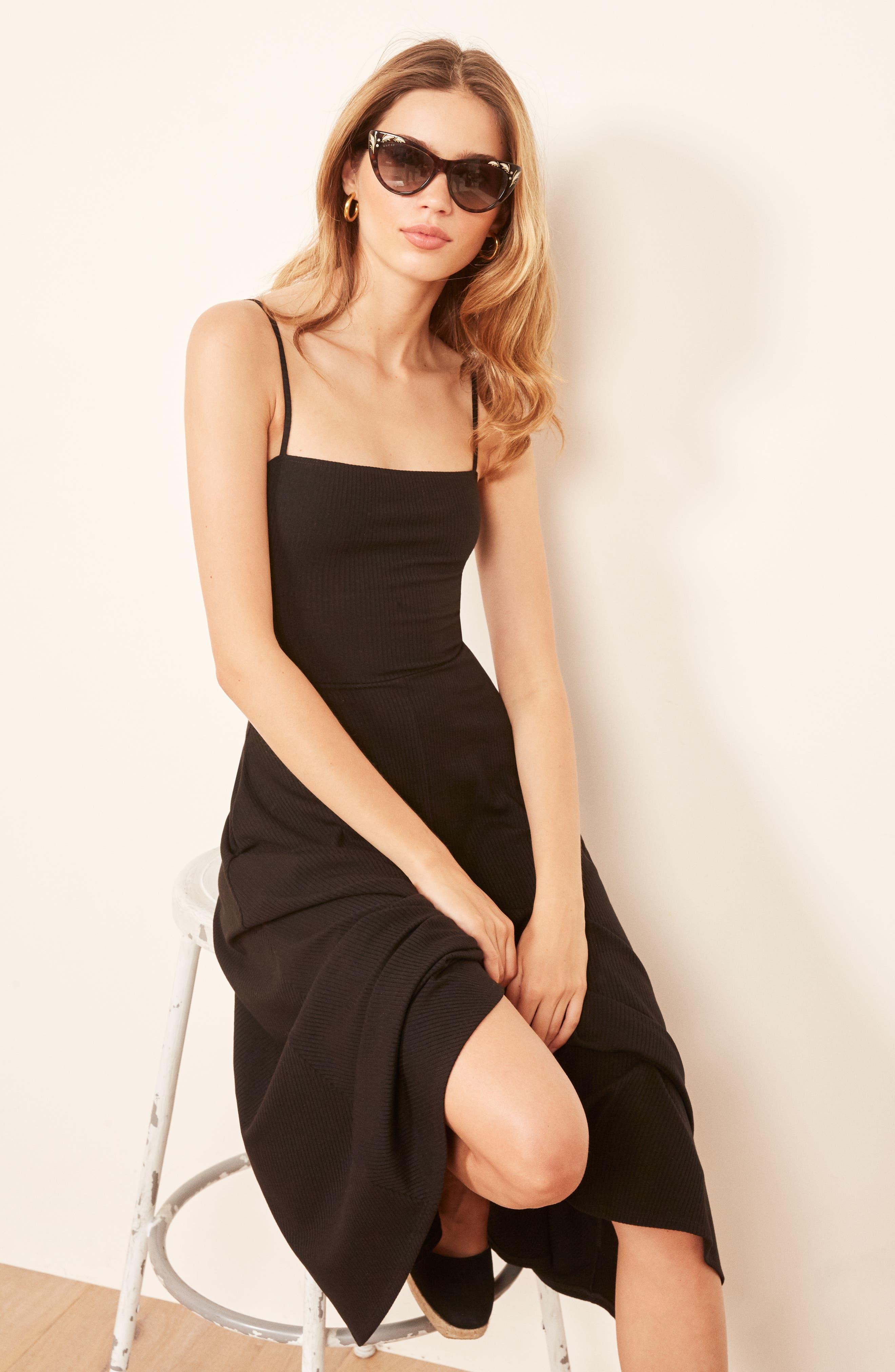 Bettie Dress,                             Alternate thumbnail 2, color,                             BLACK