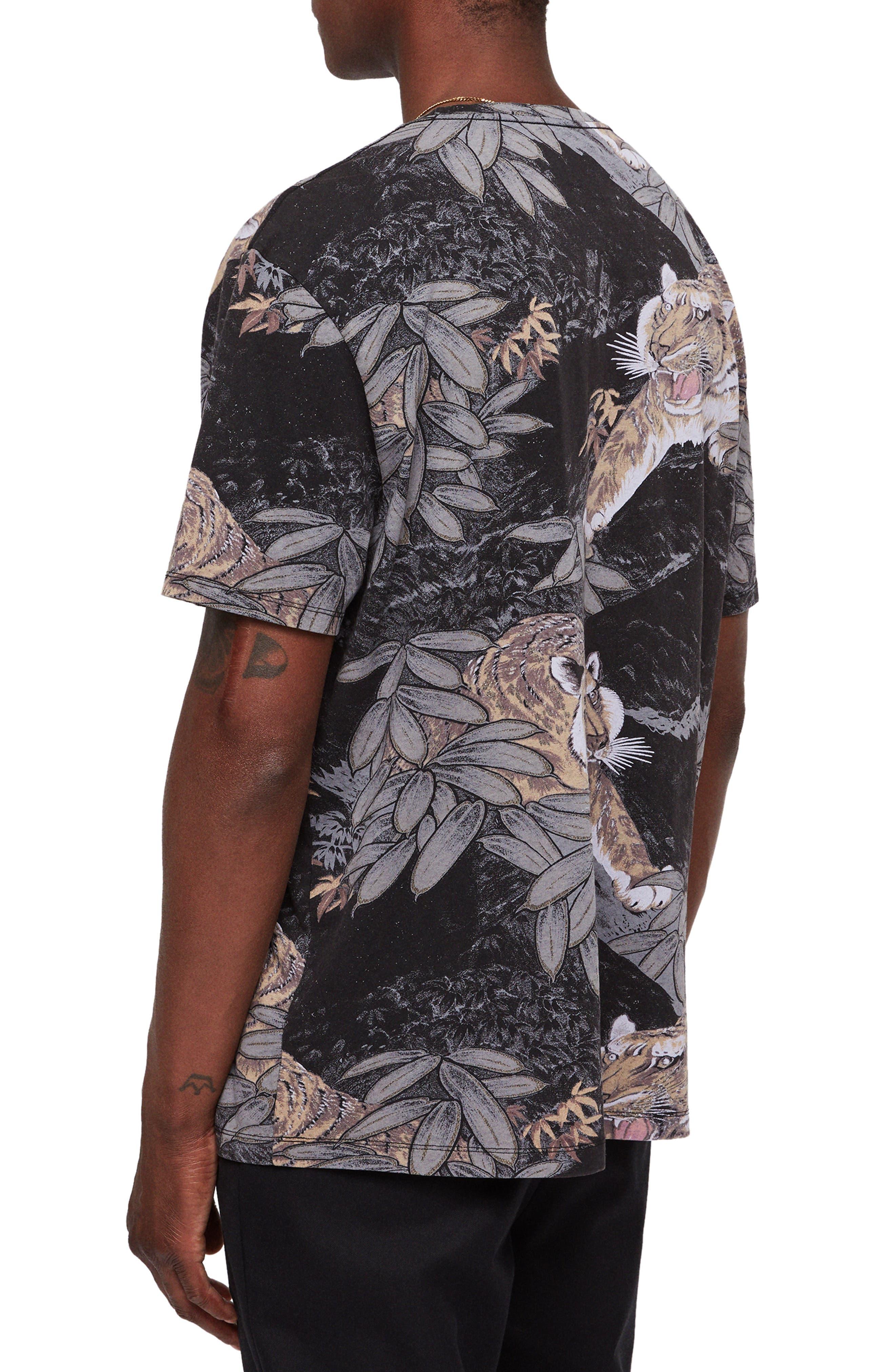 Chokai Slim Fit T-Shirt,                             Alternate thumbnail 2, color,                             VINTAGE BLACK
