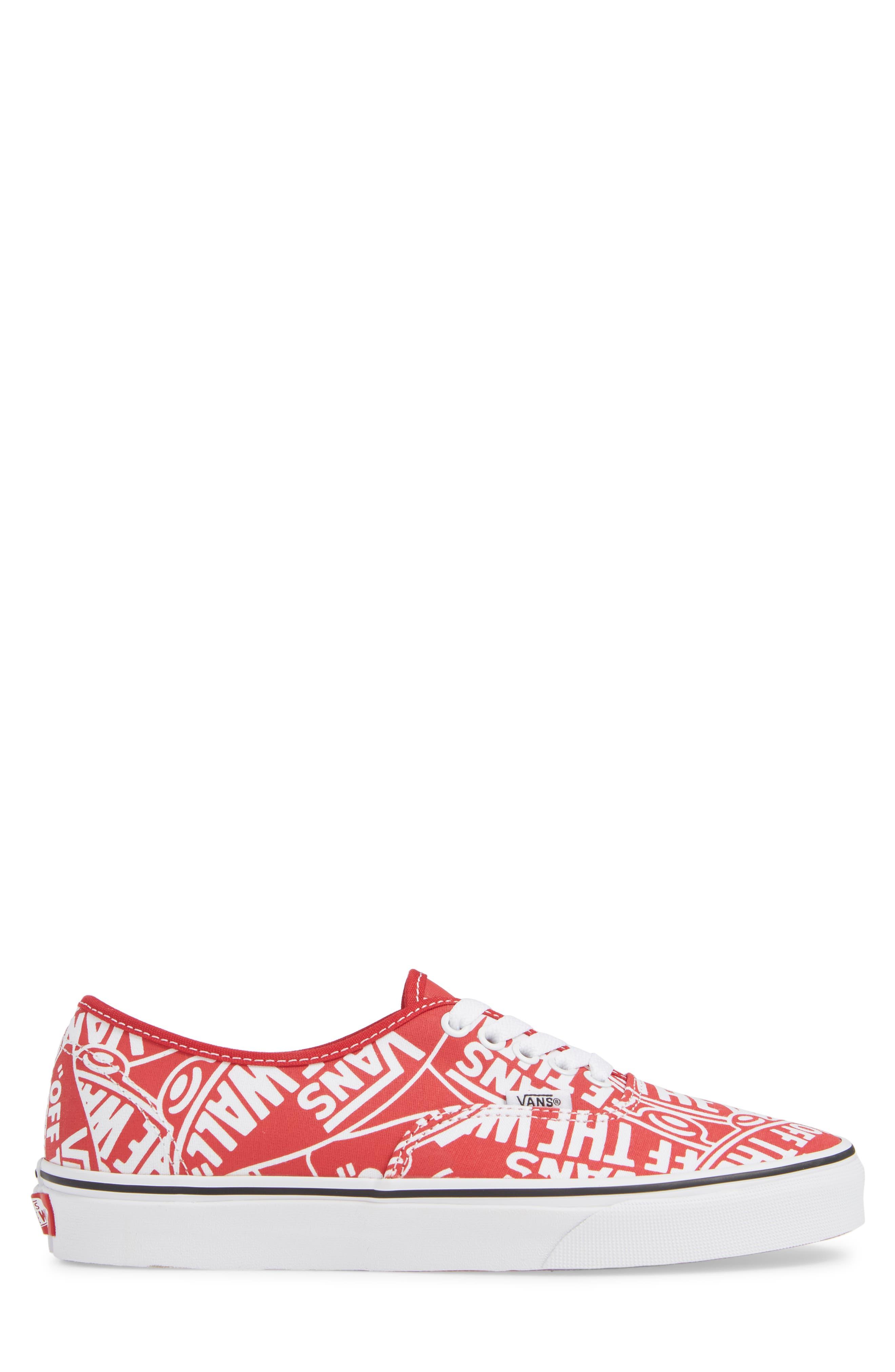 Authentic Sneaker,                             Alternate thumbnail 3, color,                             610