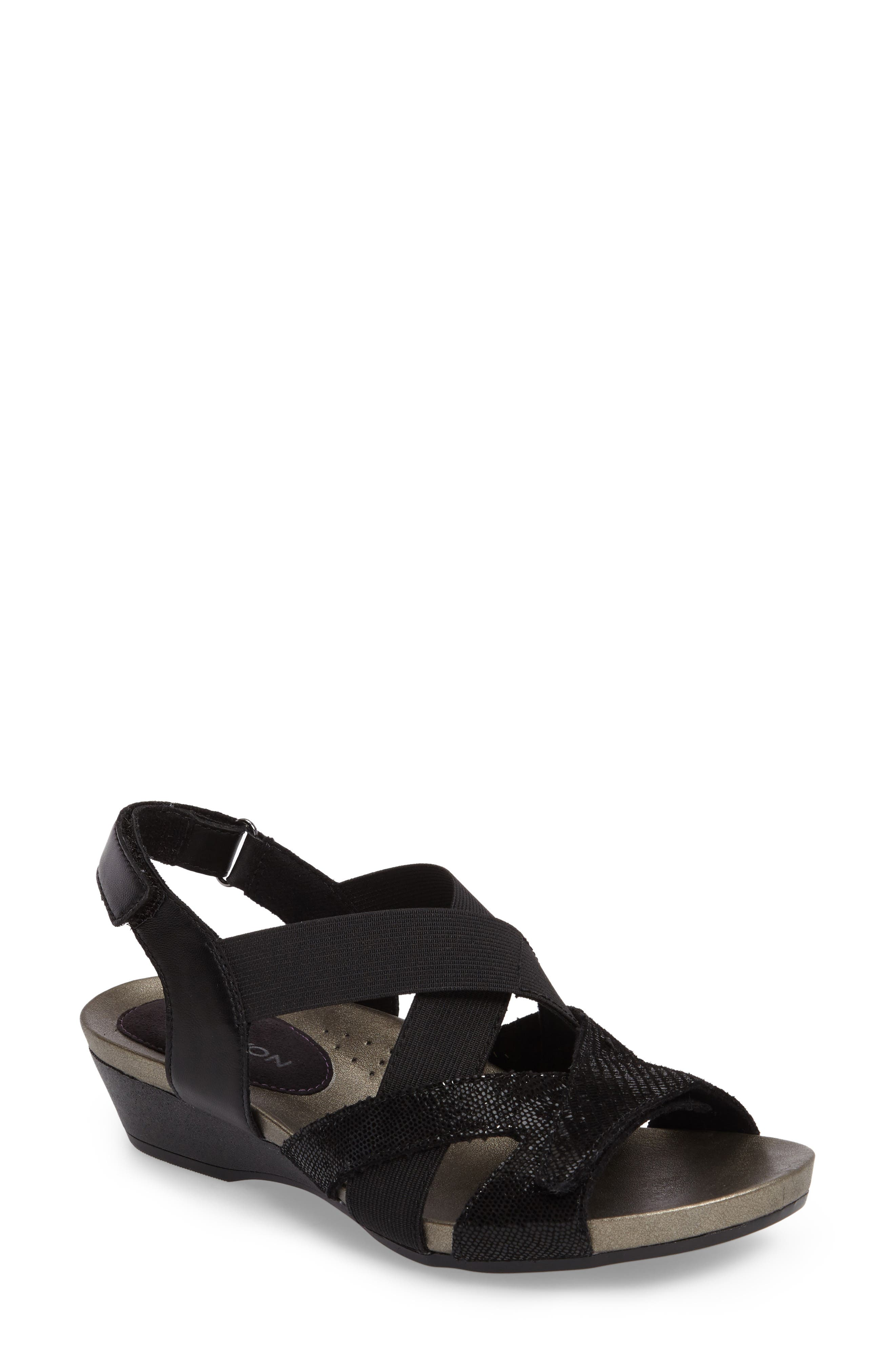 Standon Cross Strap Sandal,                         Main,                         color, 001