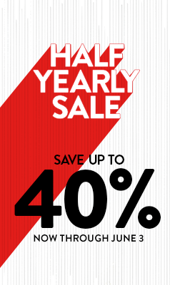 Save up to 40% through June 3.