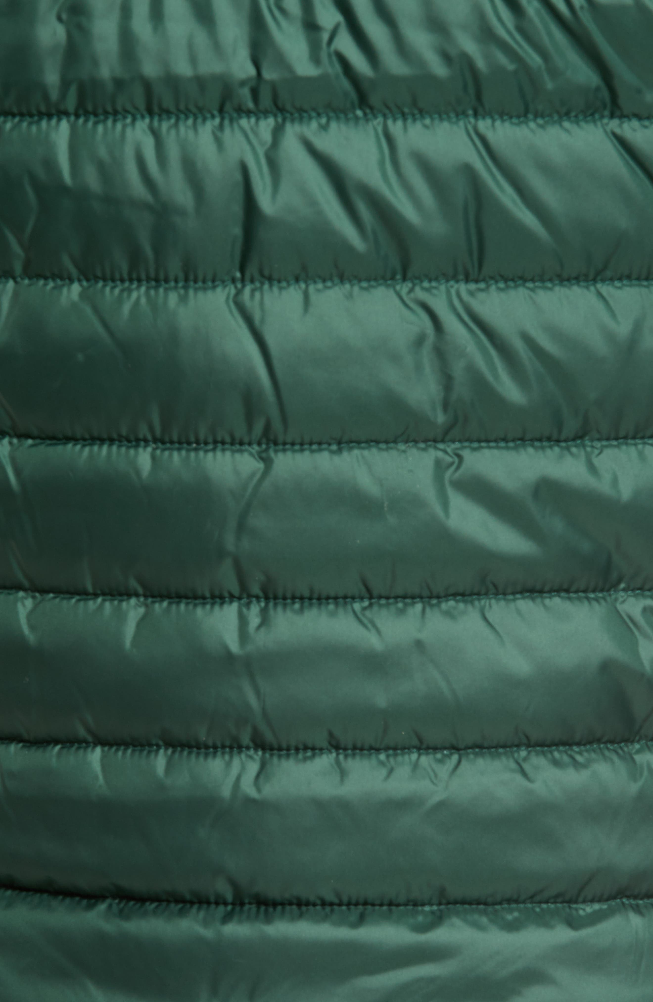 Barlow Pass Quilted Jacket,                             Alternate thumbnail 6, color,                             001