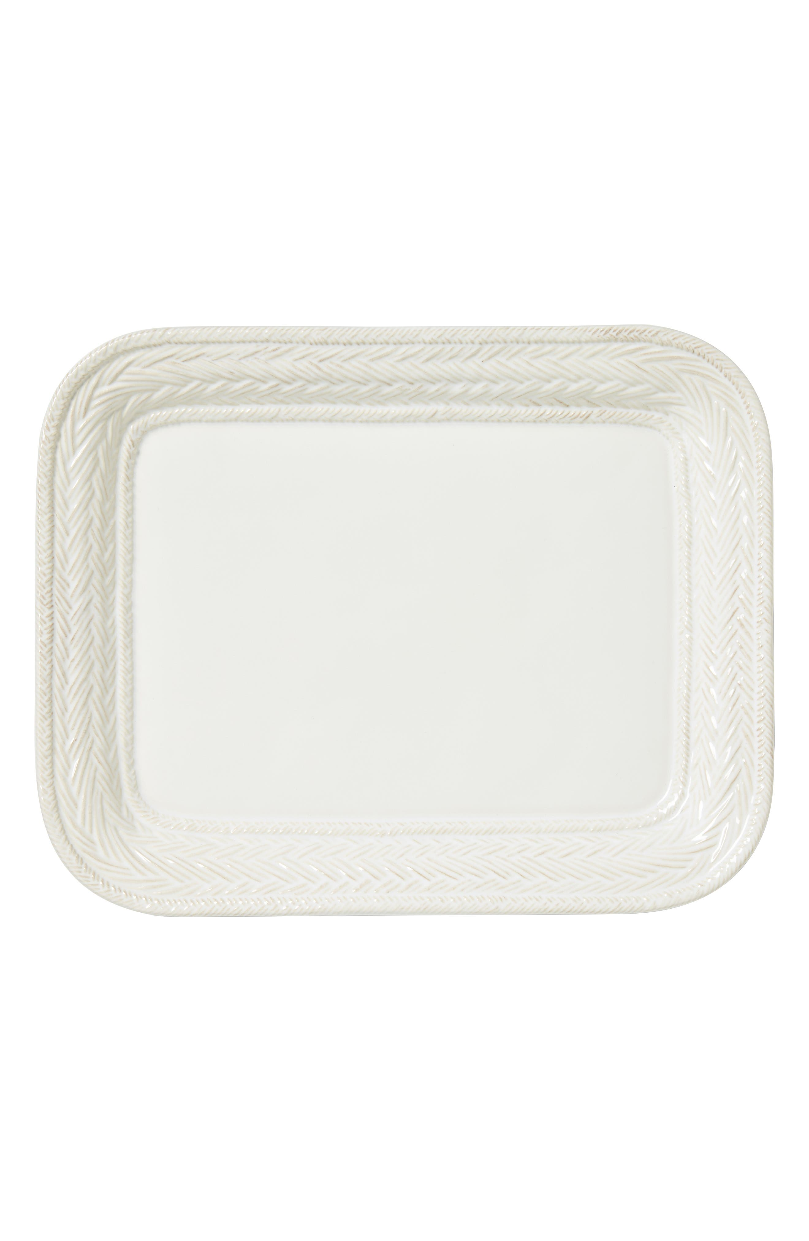 Le Panier Large Ceramic Platter,                             Alternate thumbnail 2, color,                             WHITE