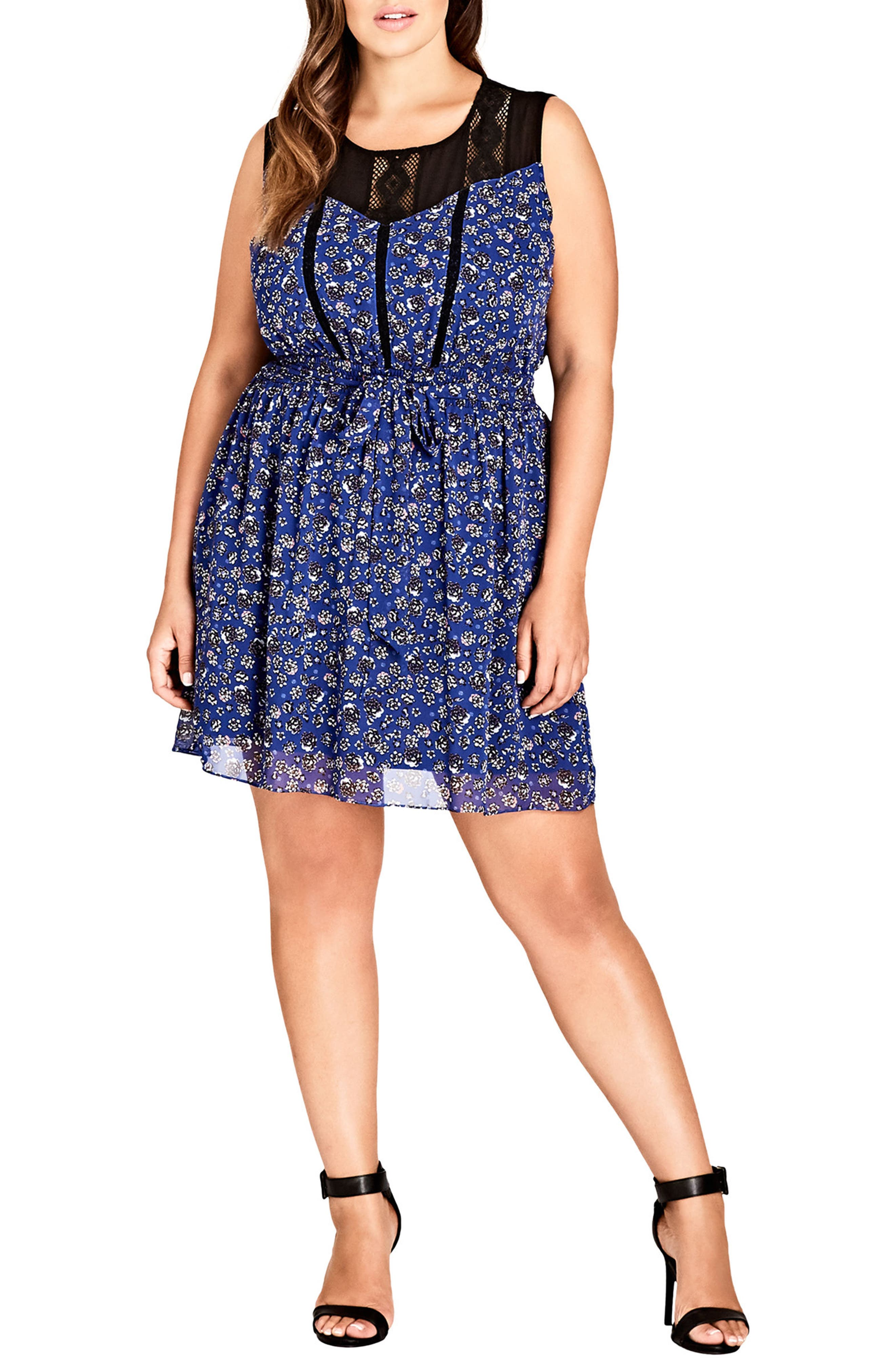 Power Posey Tunic Dress,                         Main,                         color, POWER POSEY