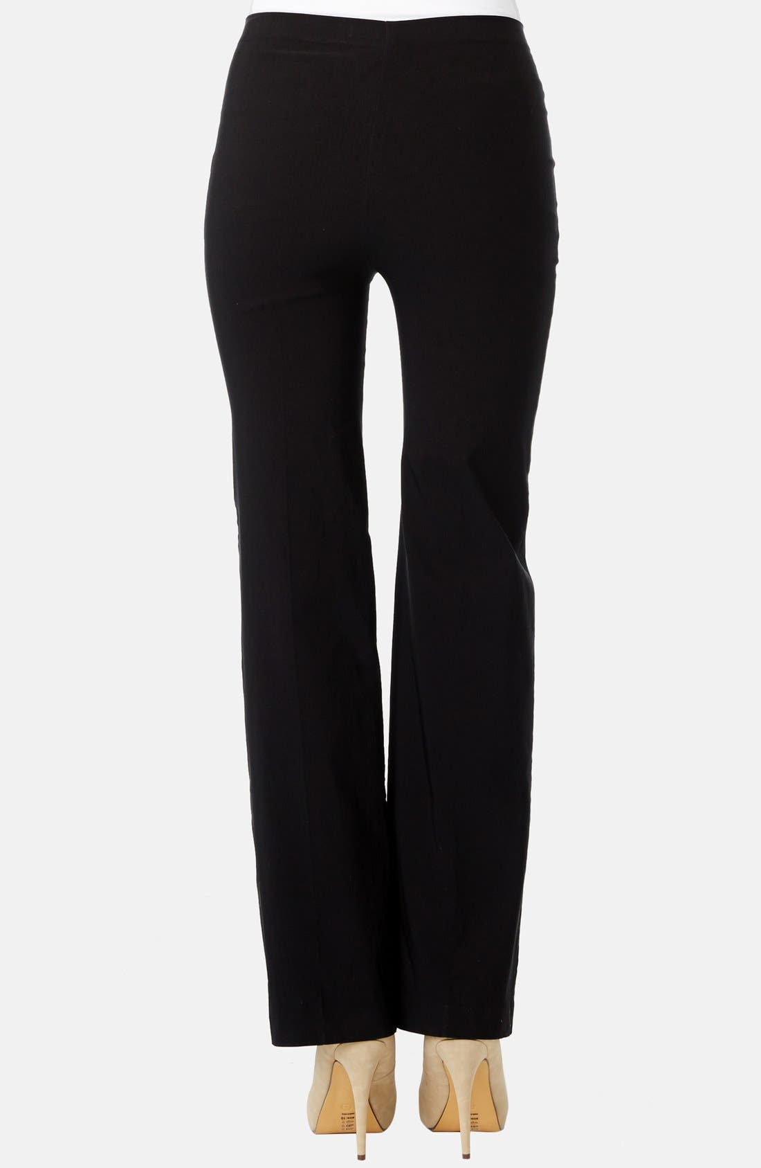 'Pret' Maternity Trousers,                             Alternate thumbnail 2, color,                             001