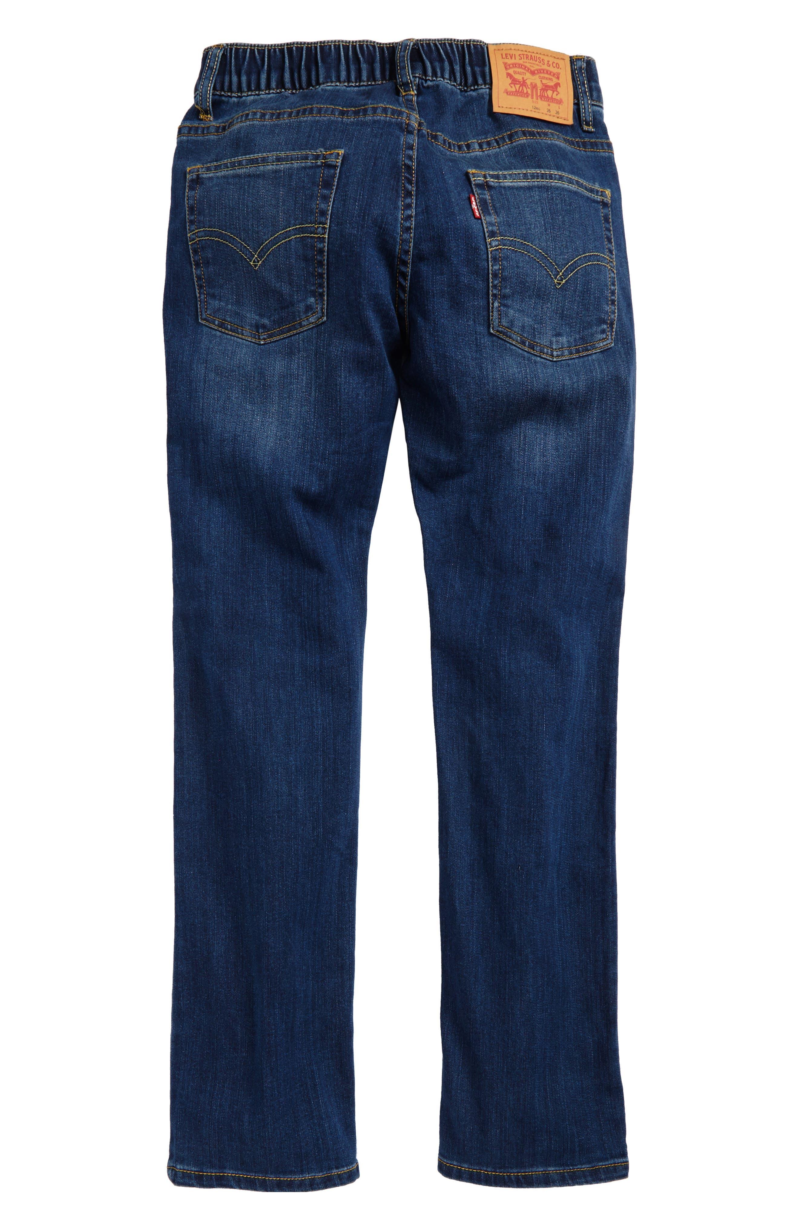 Comfort Slim Fit Straight Leg Jeans,                             Alternate thumbnail 5, color,