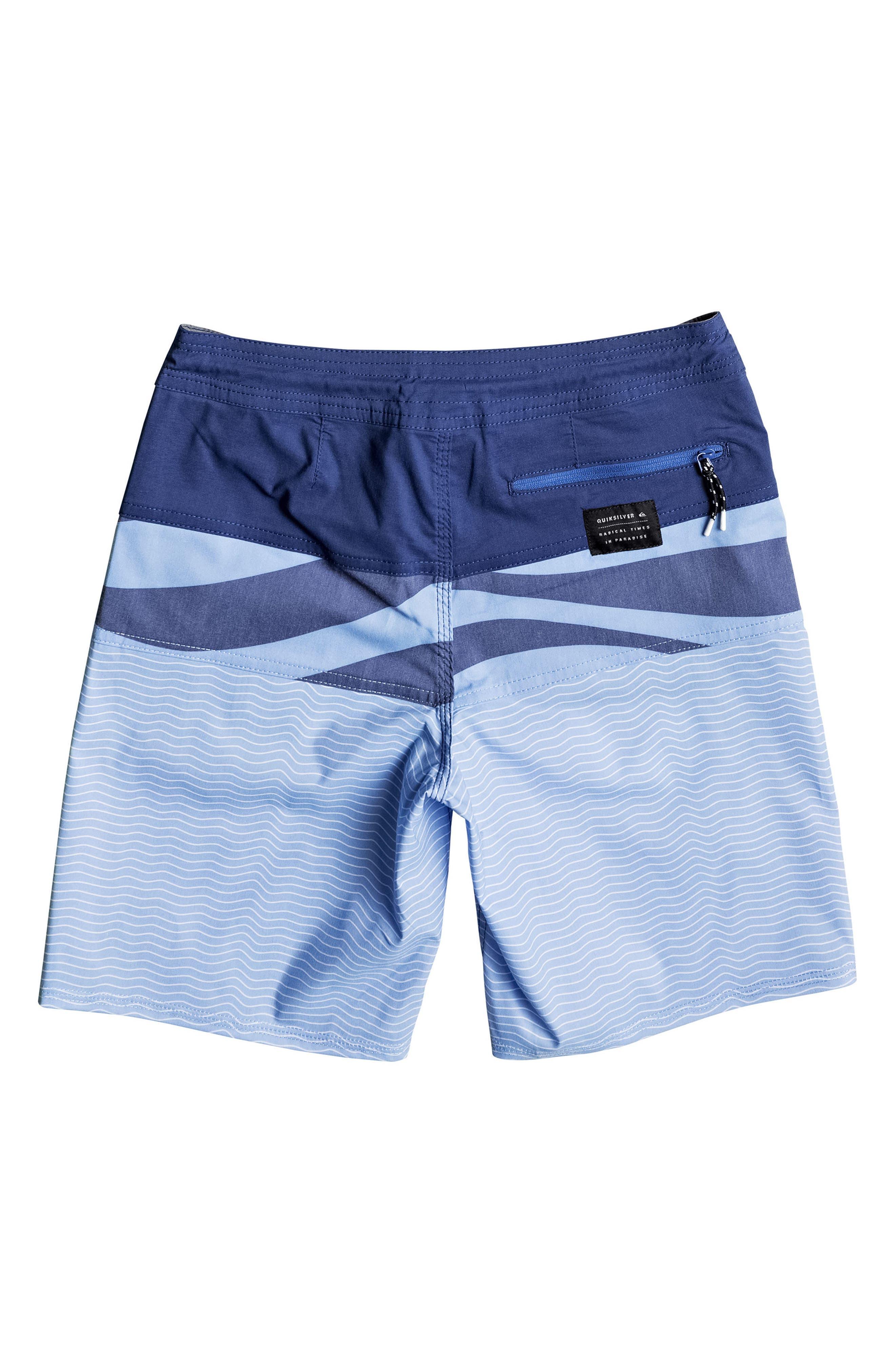Heatwave Blocked Beach Shorts,                             Alternate thumbnail 4, color,