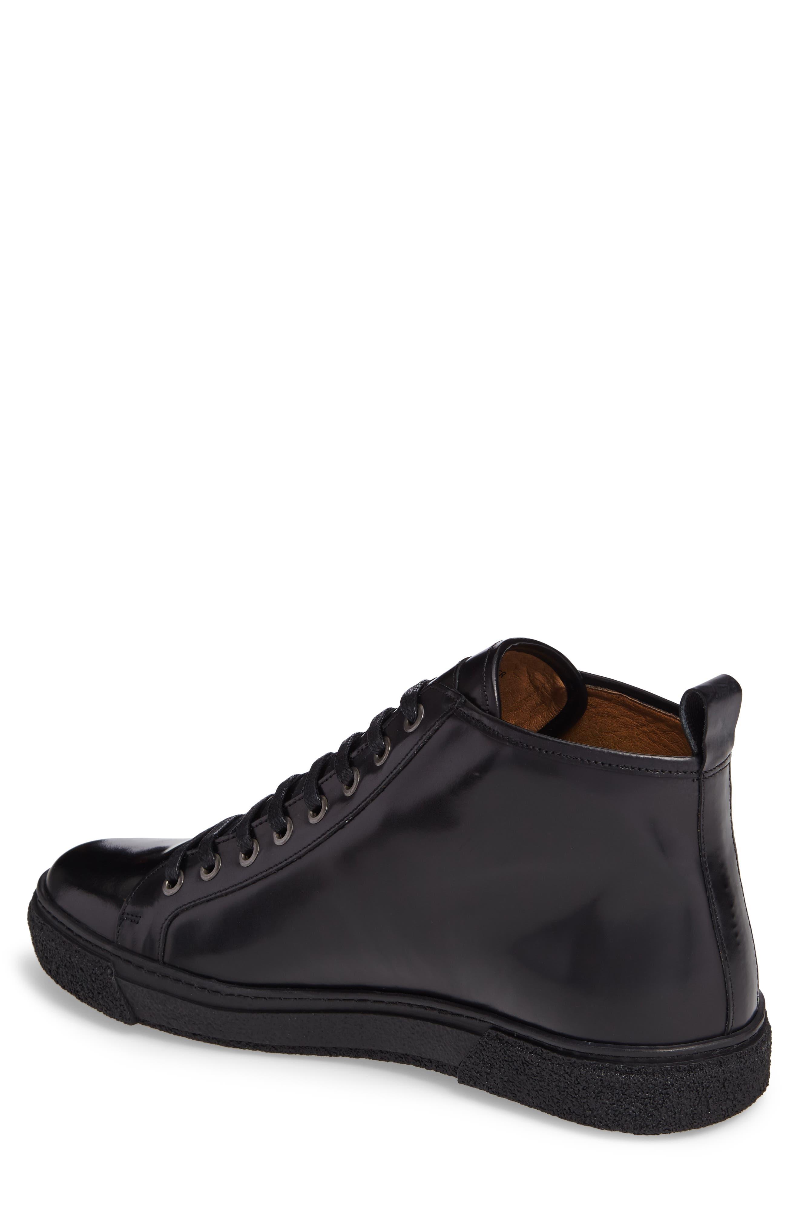 Westan Sneaker,                             Alternate thumbnail 2, color,                             BLACK LEATHER