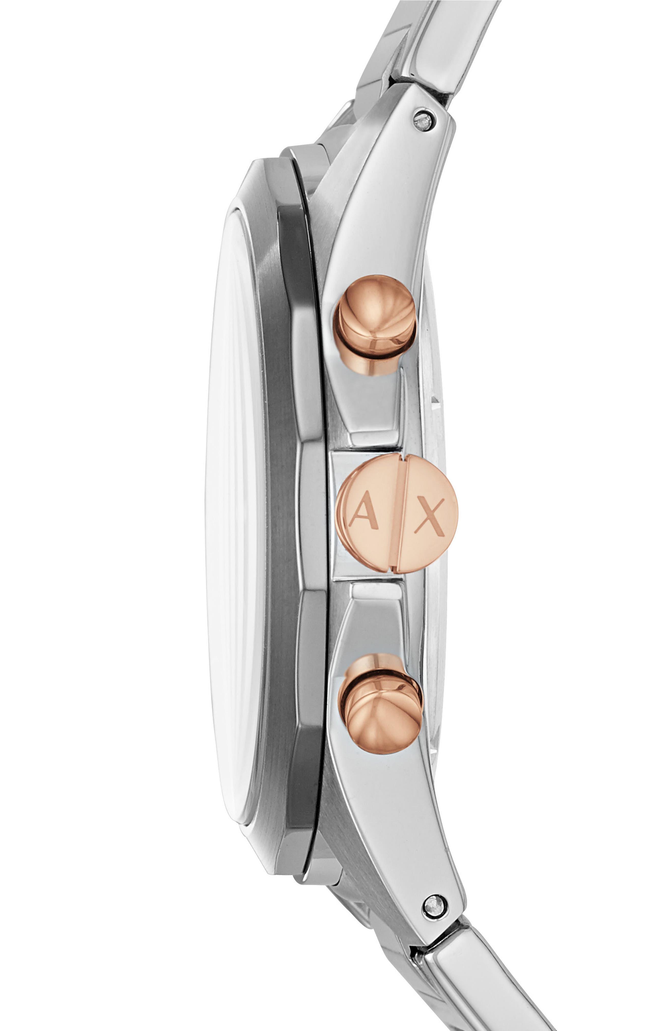 Chronograph Bracelet Watch, 44mm,                             Alternate thumbnail 2, color,