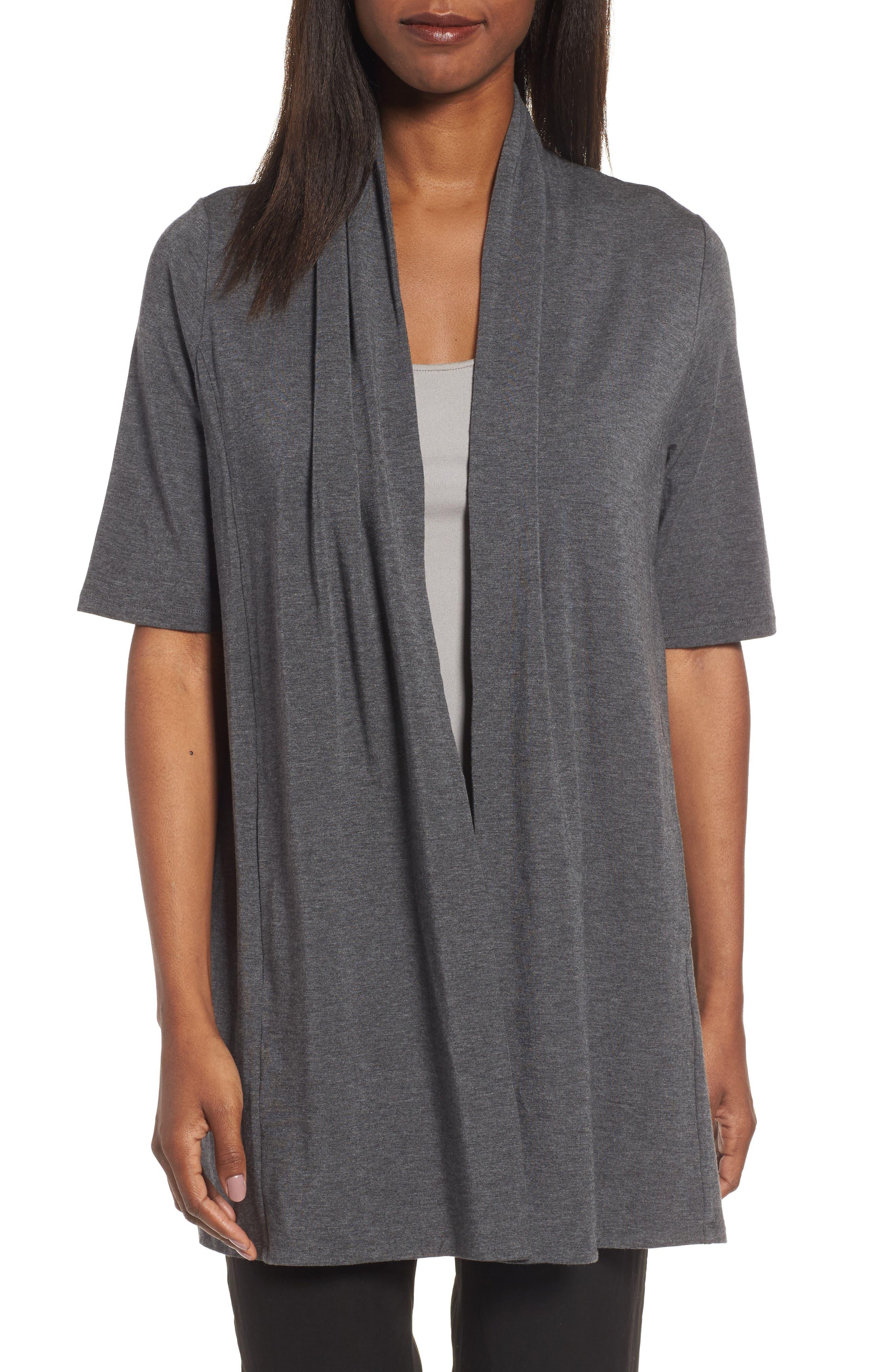 Tencel<sup>®</sup> Kimono Cardigan,                         Main,                         color, 030