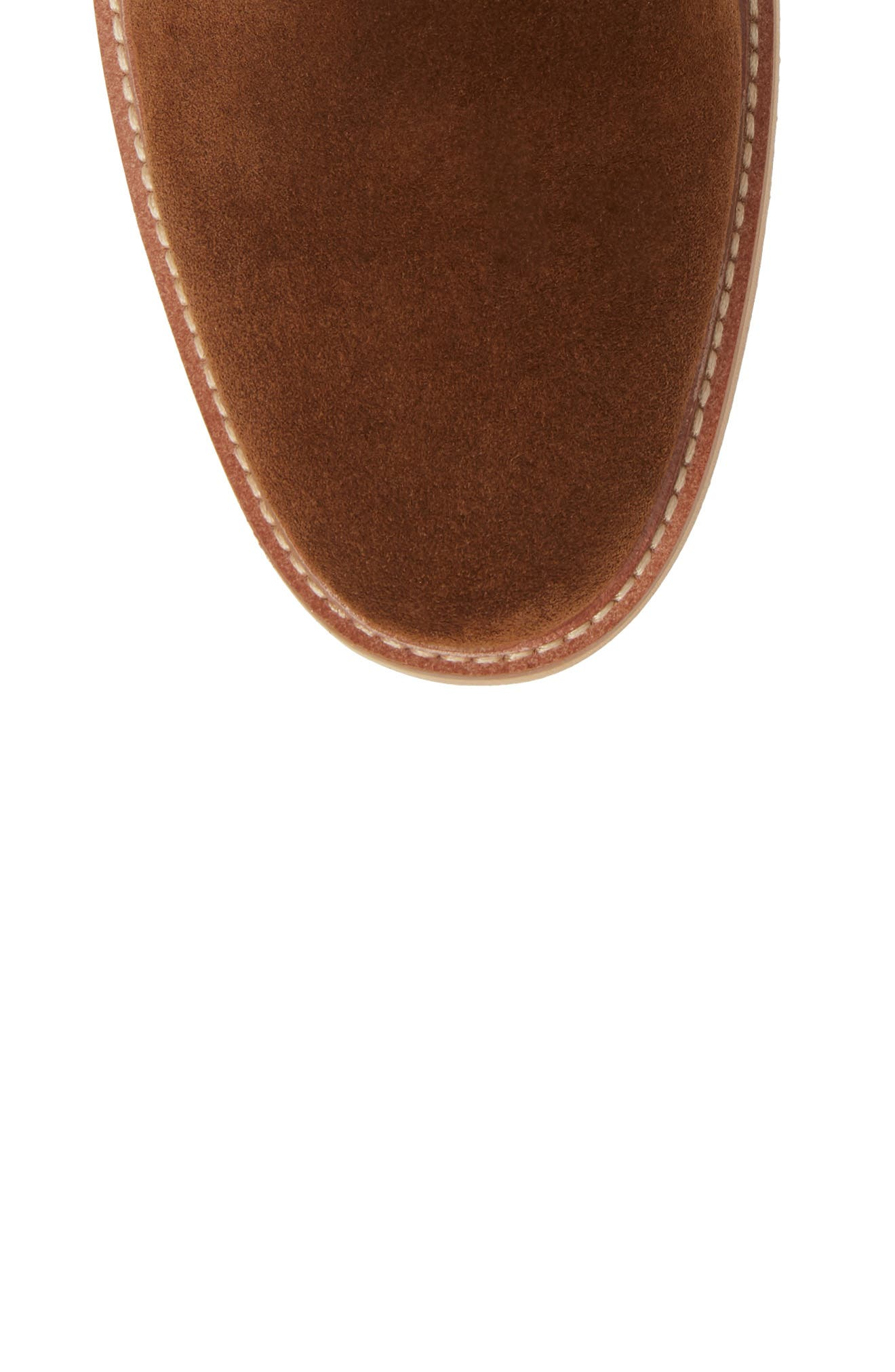 Whistler Mid Chelsea Boot,                             Alternate thumbnail 5, color,                             TOBACCO SUEDE