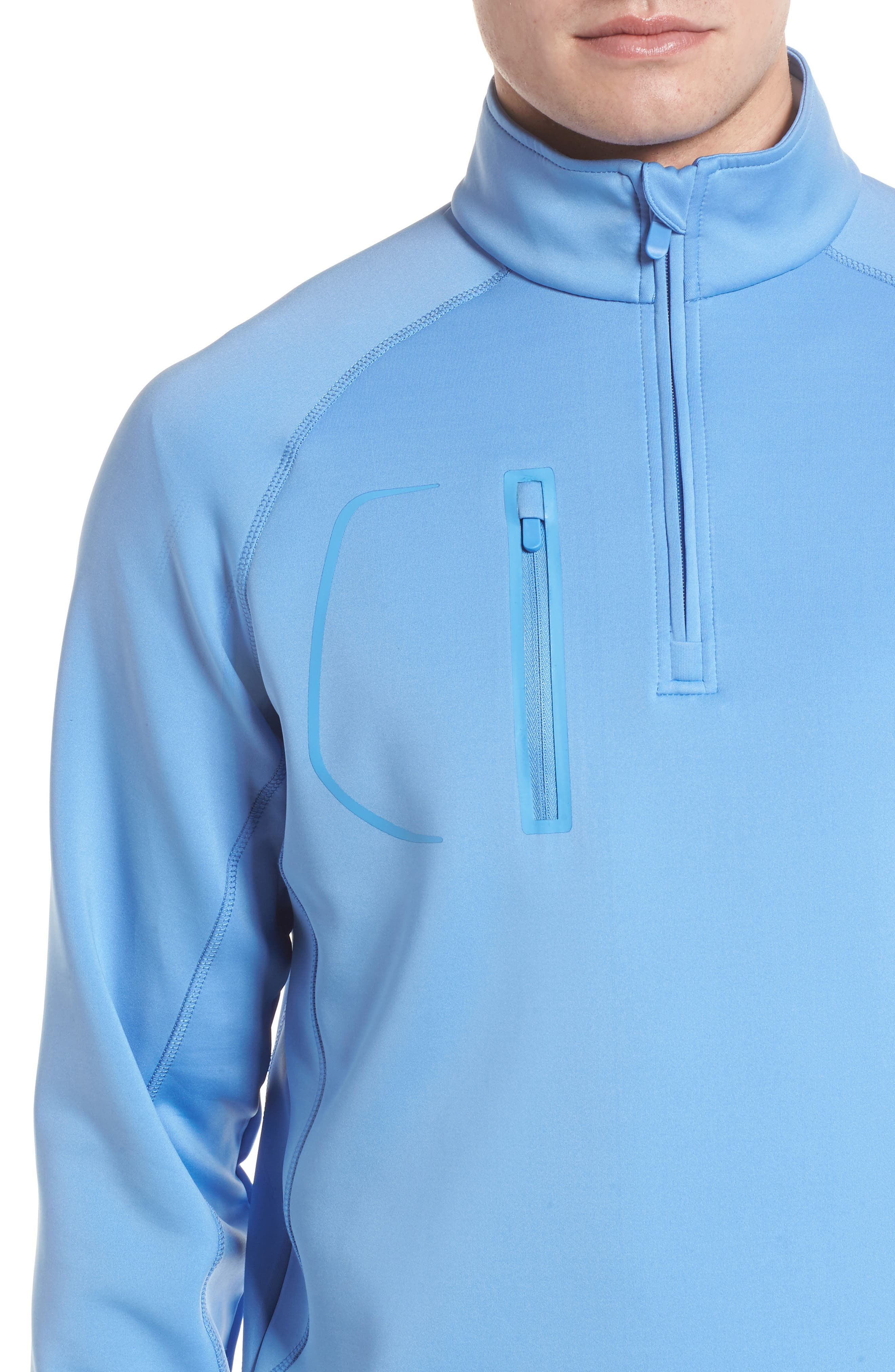 XH2O Crawford Stretch Quarter Zip Golf Pullover,                             Alternate thumbnail 40, color,