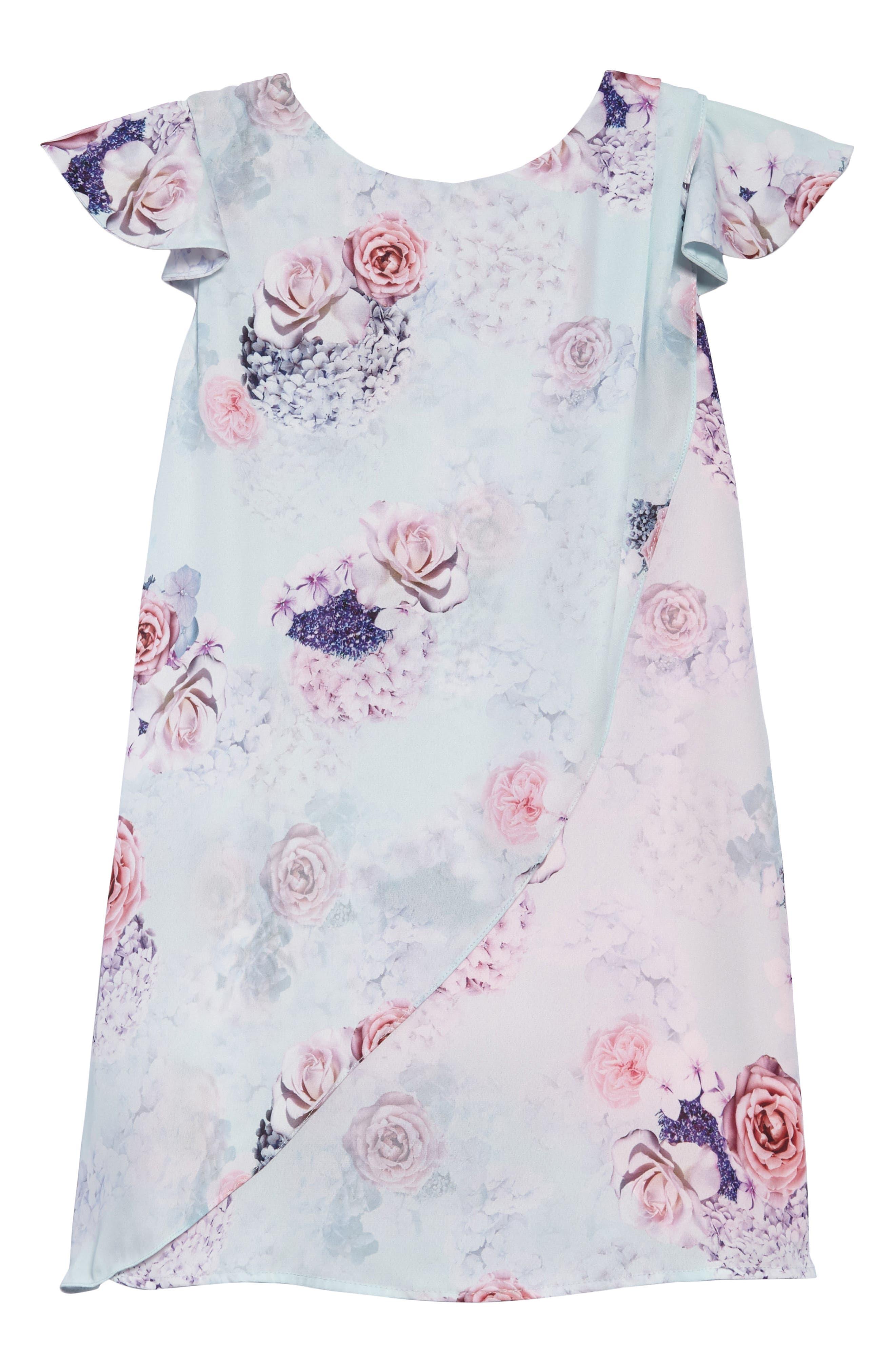 Hermione Chiffon Dress,                         Main,                         color, 300