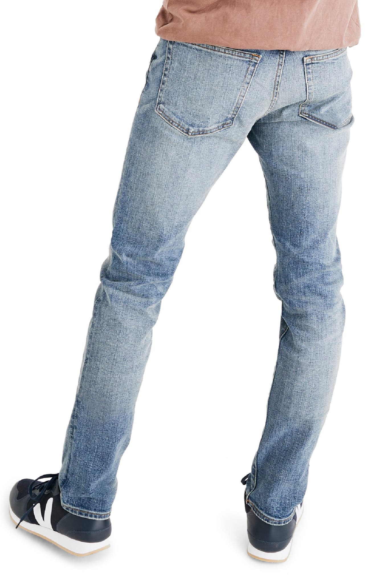 Slim Fit Jeans,                             Alternate thumbnail 2, color,                             BAYWOOD WASH