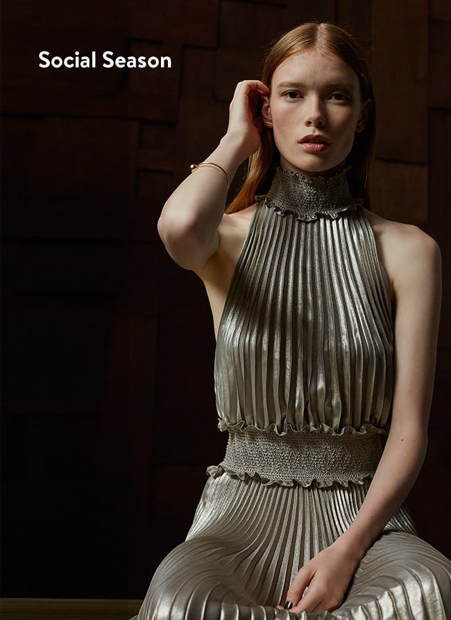 What's now: party dressing from need-to-know contemporary labels.