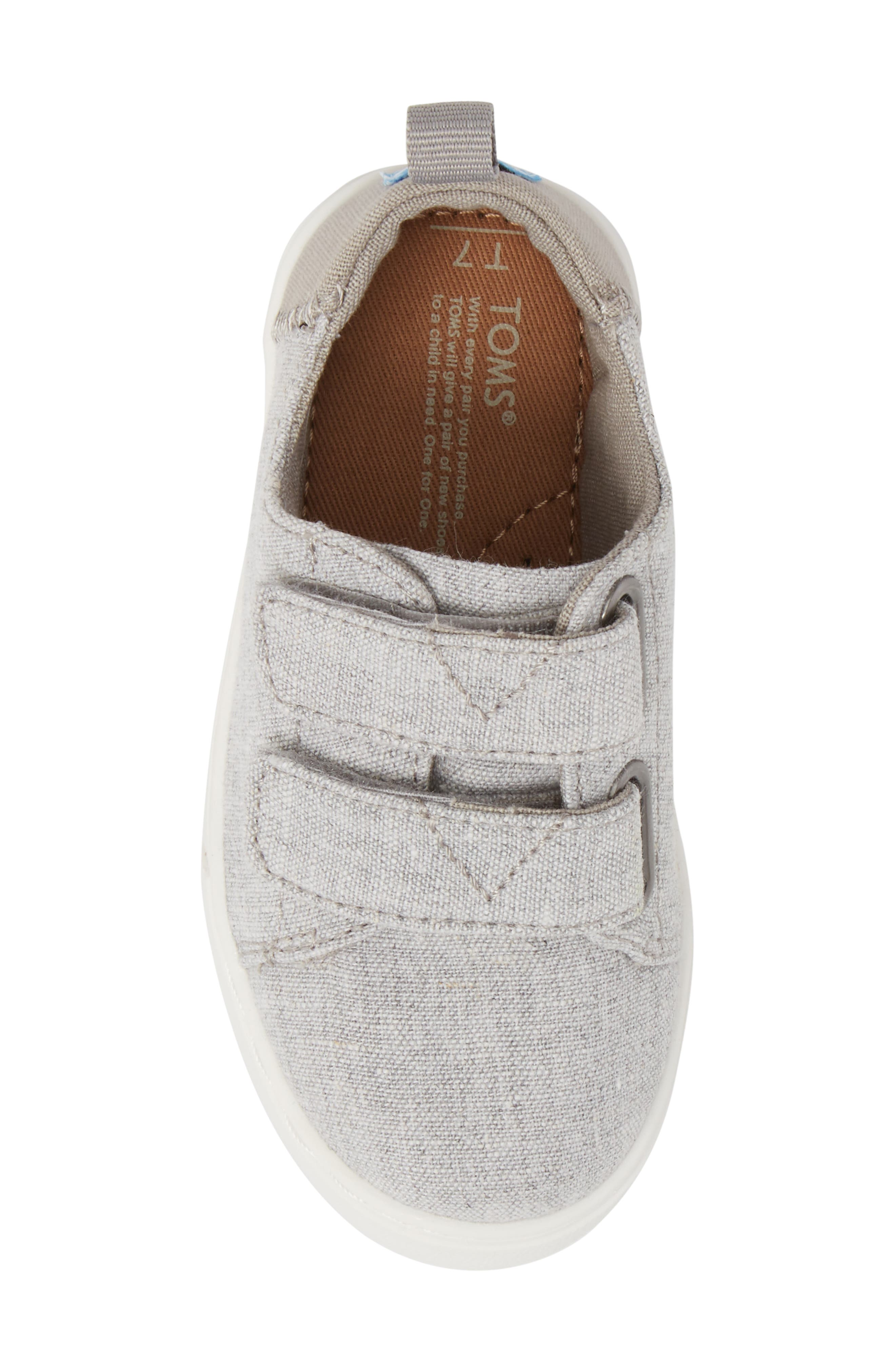 Lenny Sneaker,                             Alternate thumbnail 5, color,                             DRIZZLE GREY CHAMBRAY