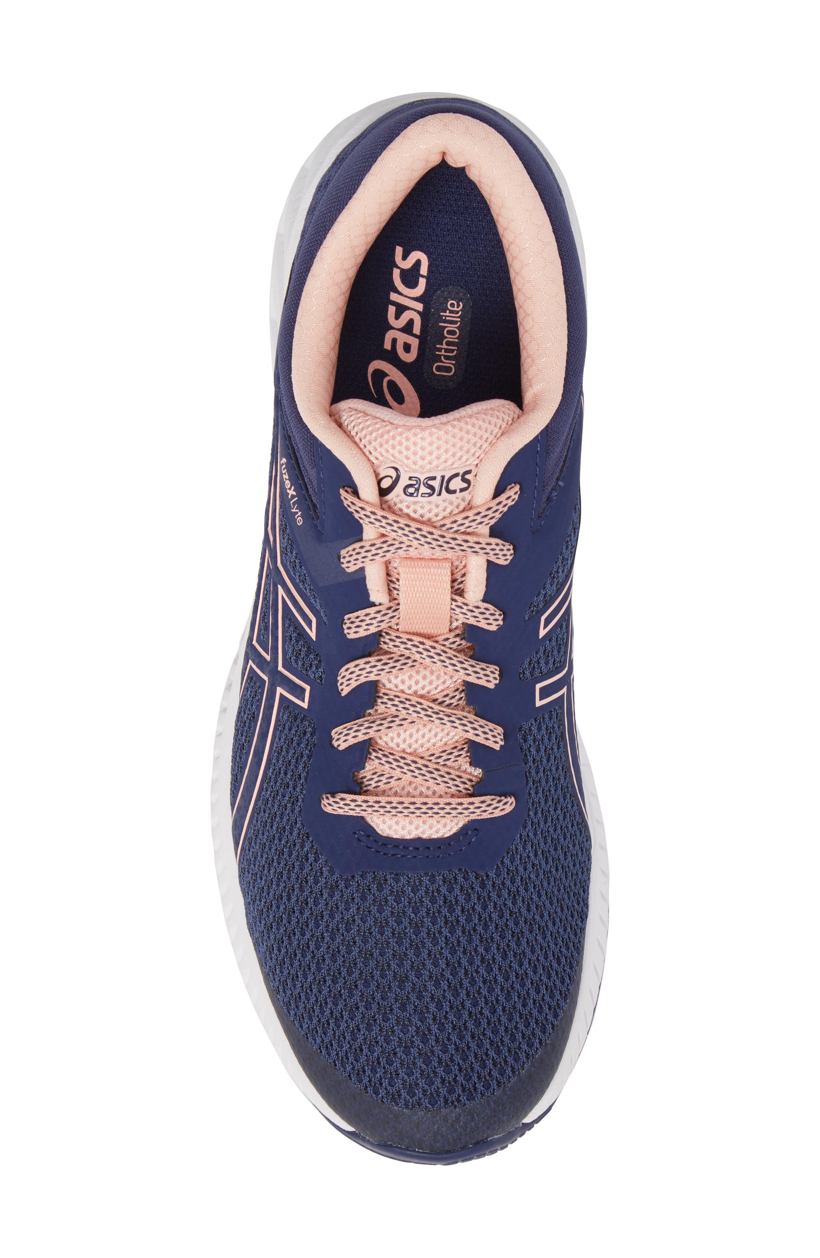 FuzeX Lyte 2 Running Shoe,                             Alternate thumbnail 5, color,                             INDIGO BLUE/ FROSTED ROSE