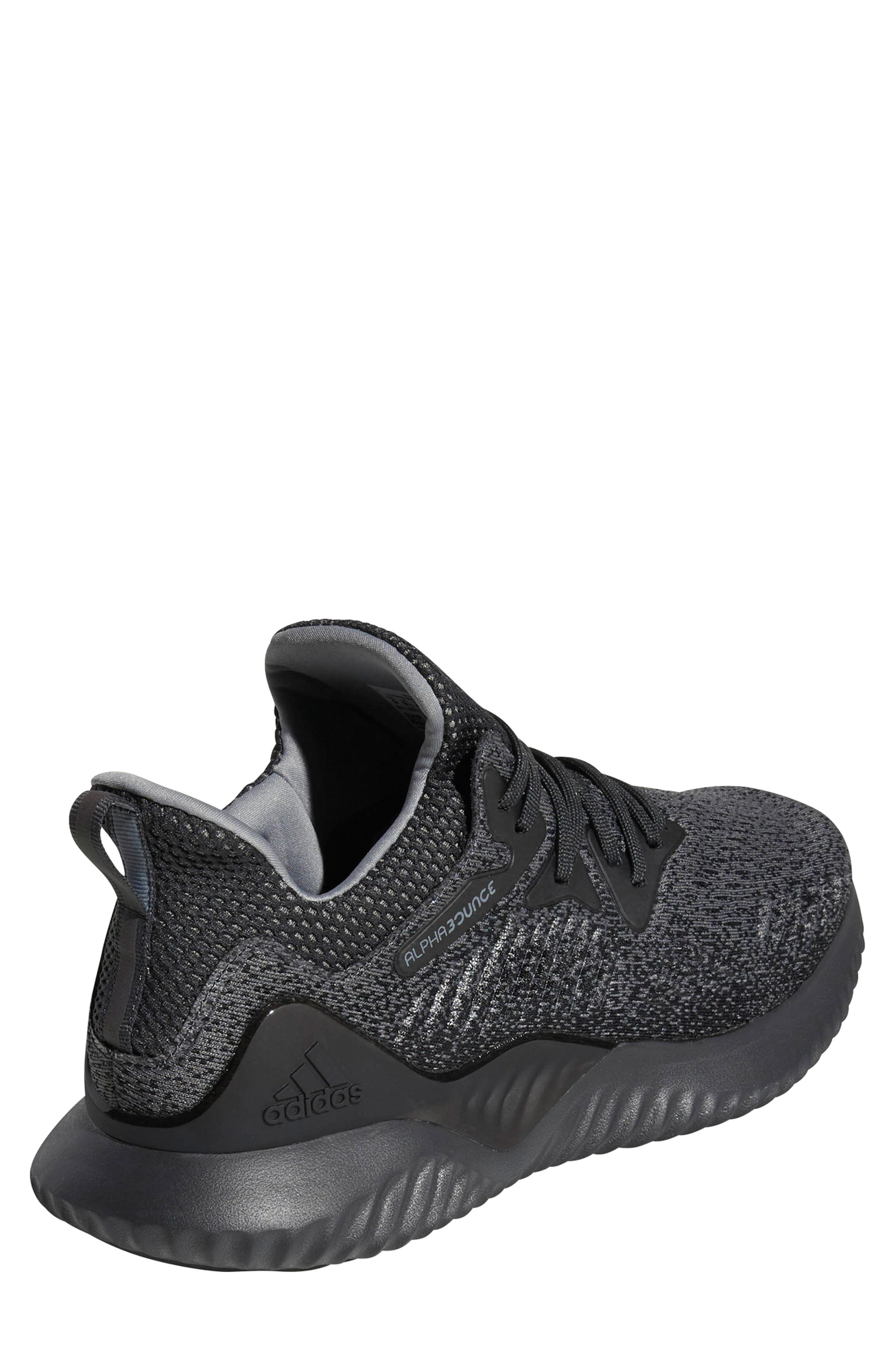 AlphaBounce Beyond Knit Running Shoe,                             Alternate thumbnail 2, color,                             099