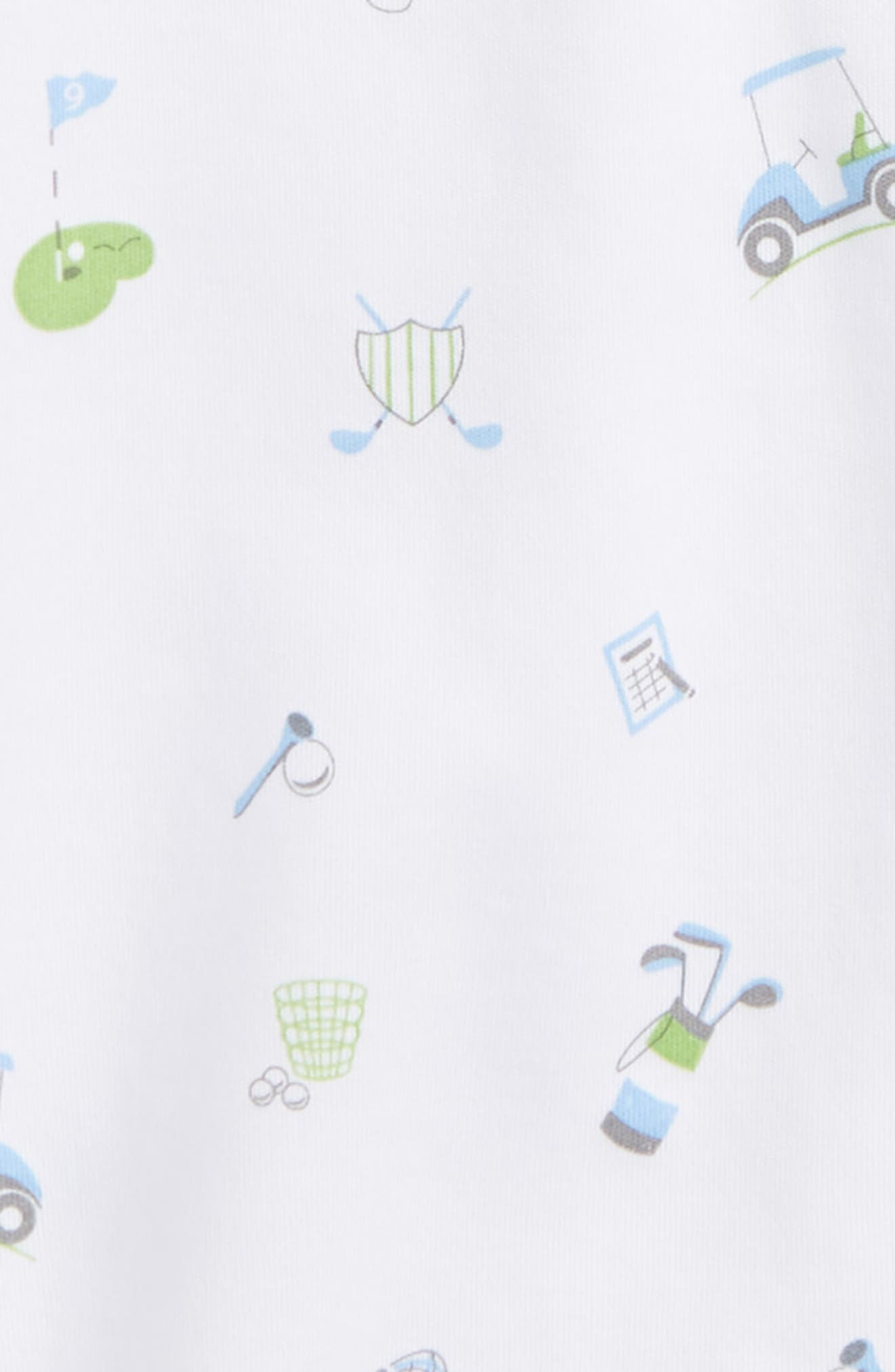 Daddy Caddy Polo Romper,                             Alternate thumbnail 2, color,