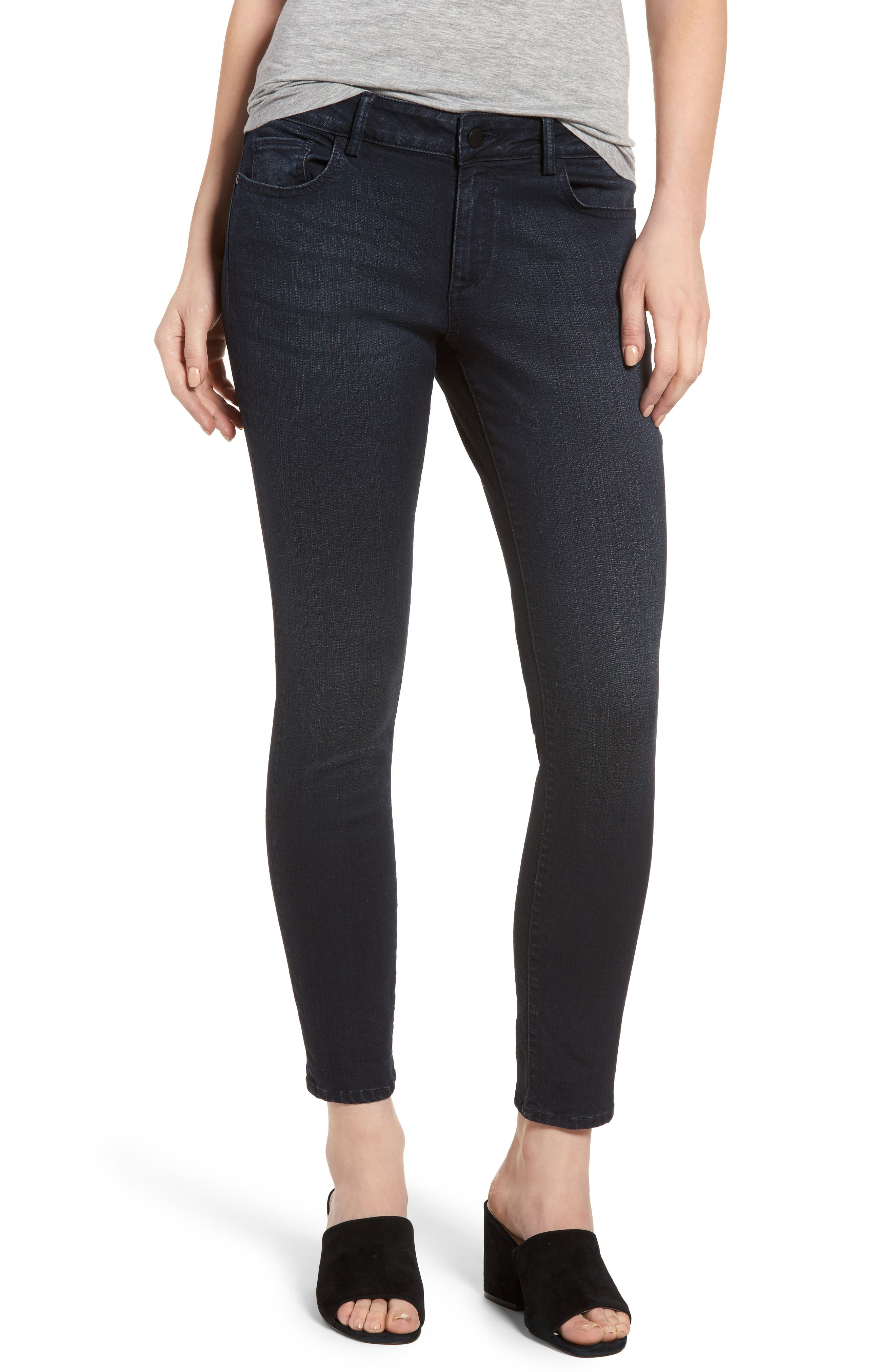 Coco Curvy Skinny Ankle Jeans,                         Main,                         color,