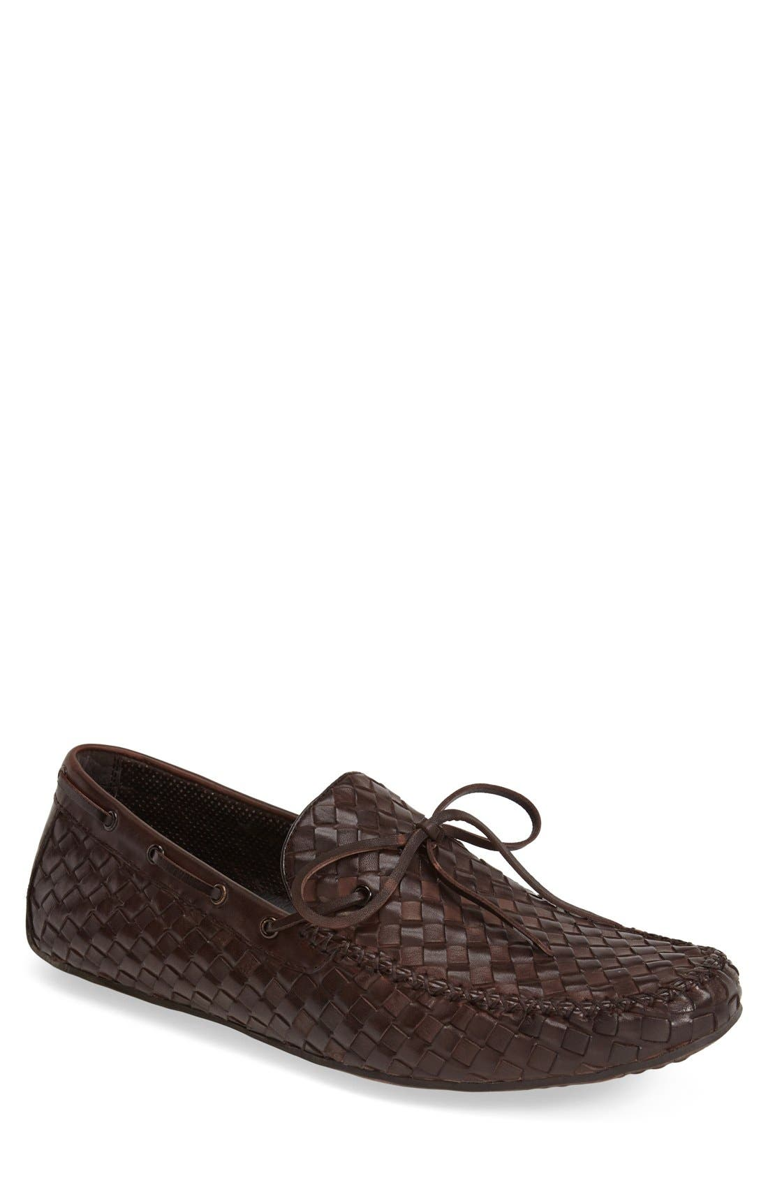 Leather Loafer,                             Main thumbnail 3, color,