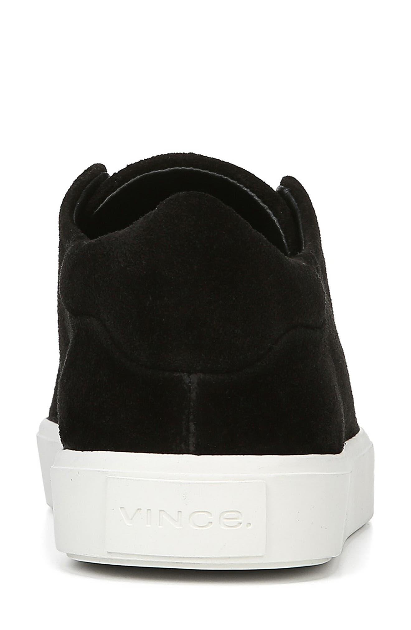 Cantara Slip-On Sneaker,                             Alternate thumbnail 7, color,                             BLACK SUEDE