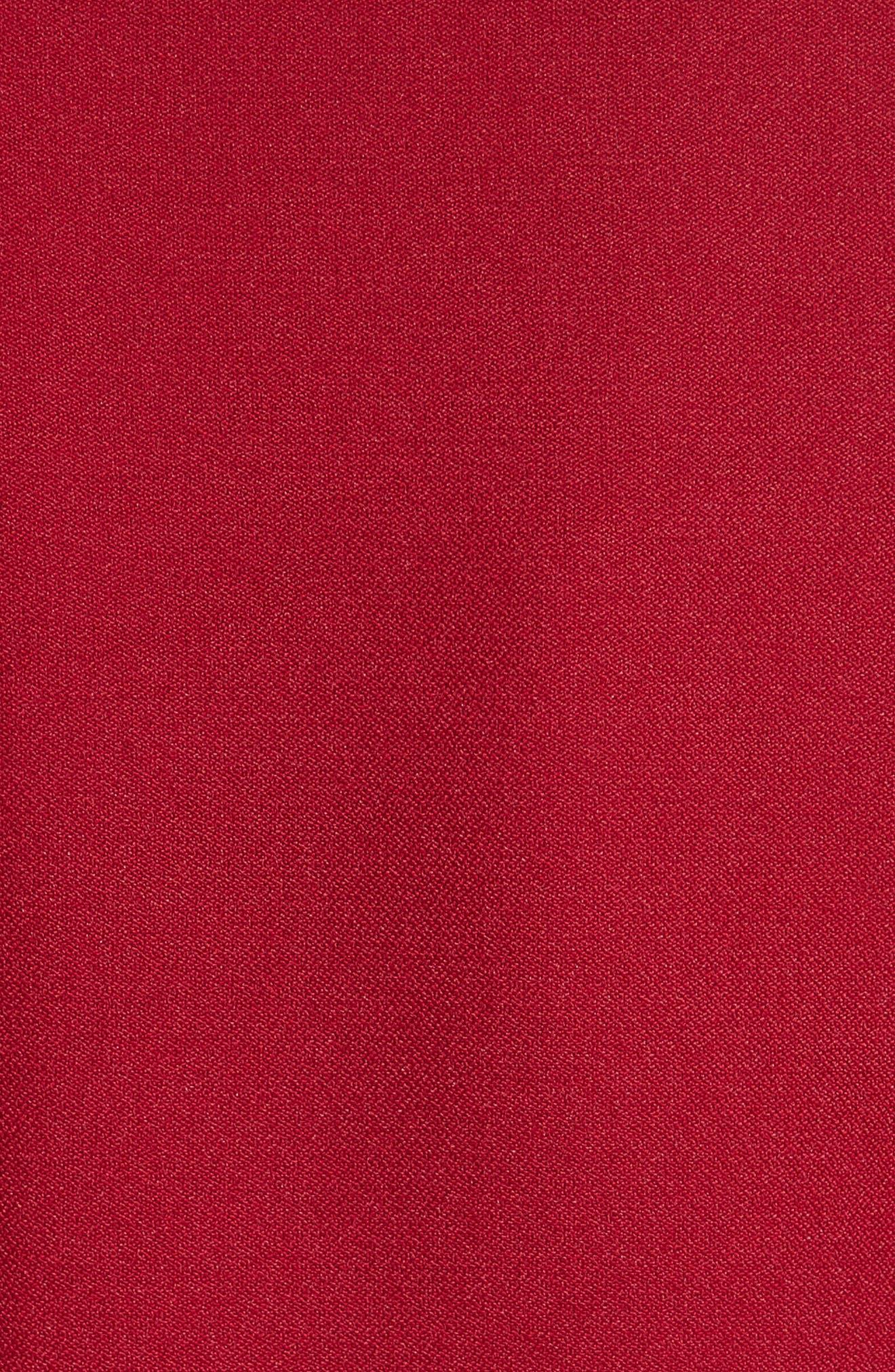 Lavete Bow Sleeve Crepe Dress,                             Alternate thumbnail 5, color,