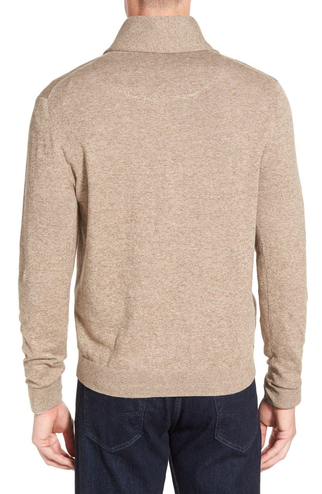 Men's Shop Shawl Collar Sweater,                             Alternate thumbnail 10, color,