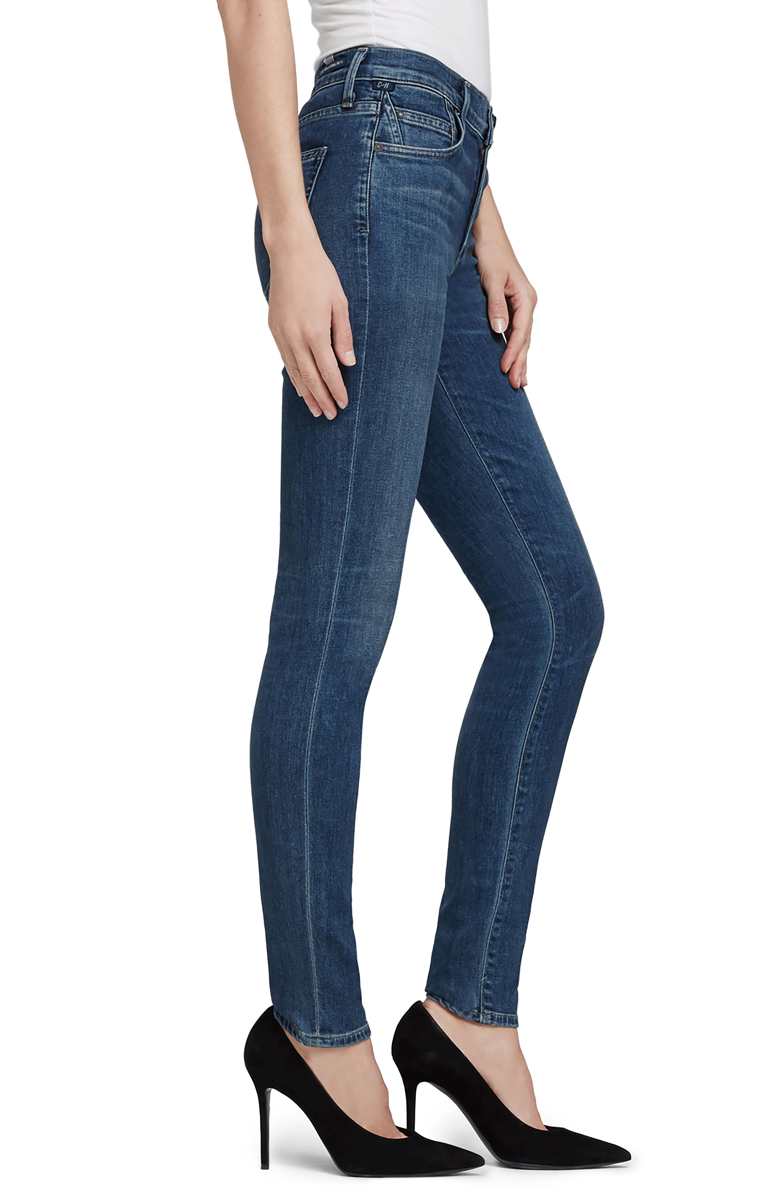 CITIZENS OF HUMANITY,                             Rocket High Waist Skinny Jeans,                             Alternate thumbnail 3, color,                             430