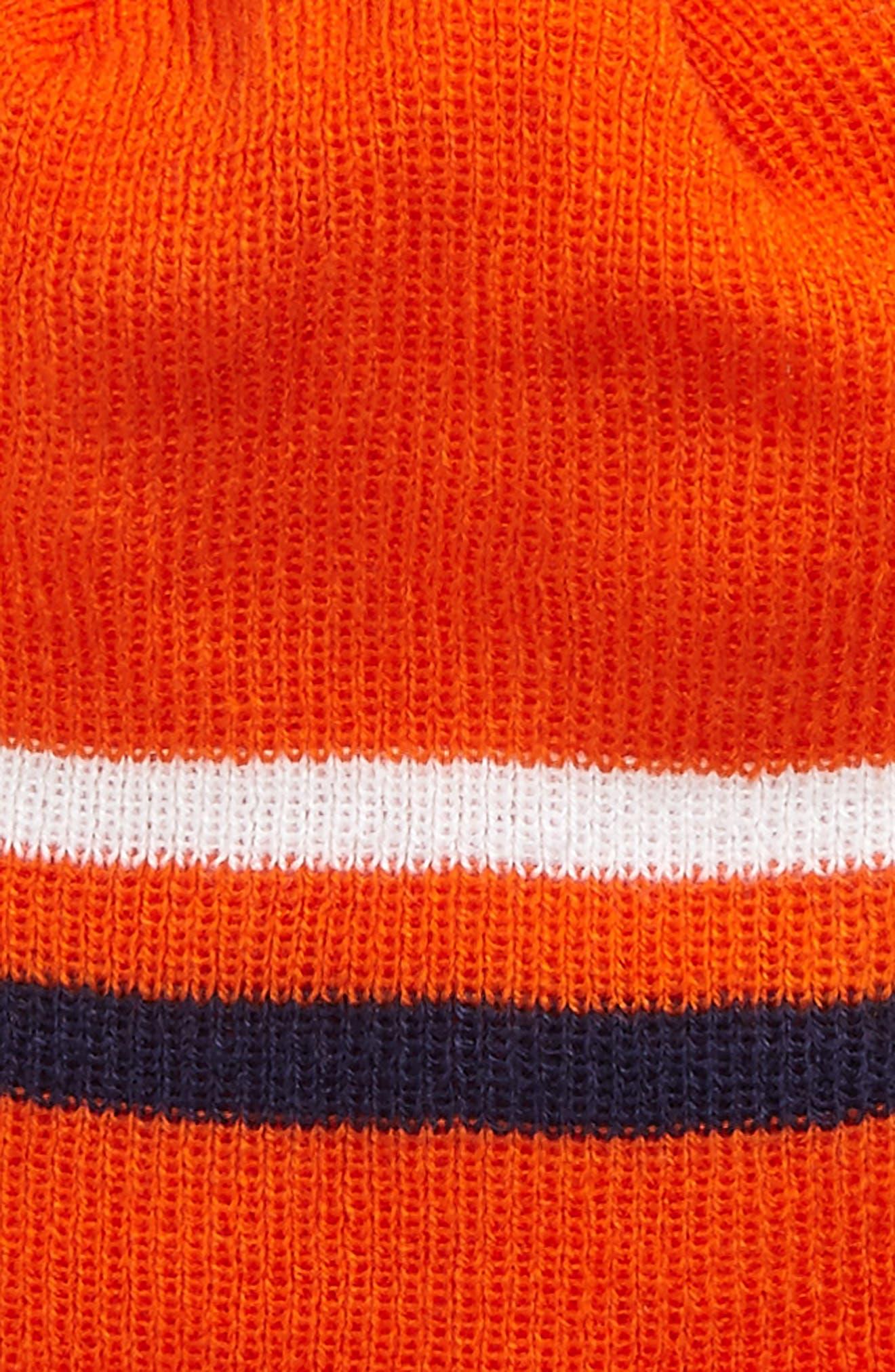 NFL Logo Pom Beanie & Tech Gloves Set,                             Alternate thumbnail 12, color,