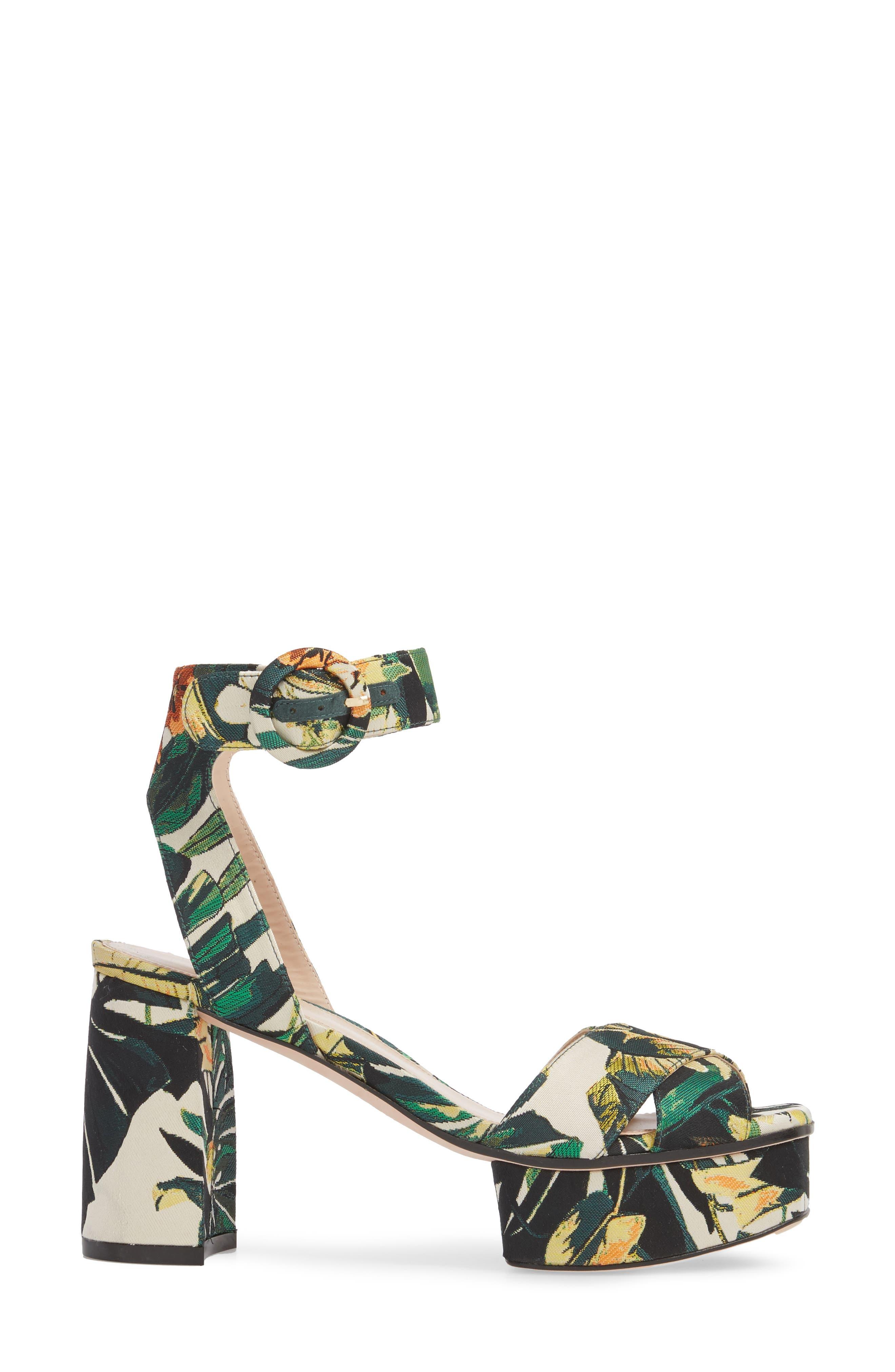 Carmina Ankle Strap Platform Sandal,                             Alternate thumbnail 12, color,
