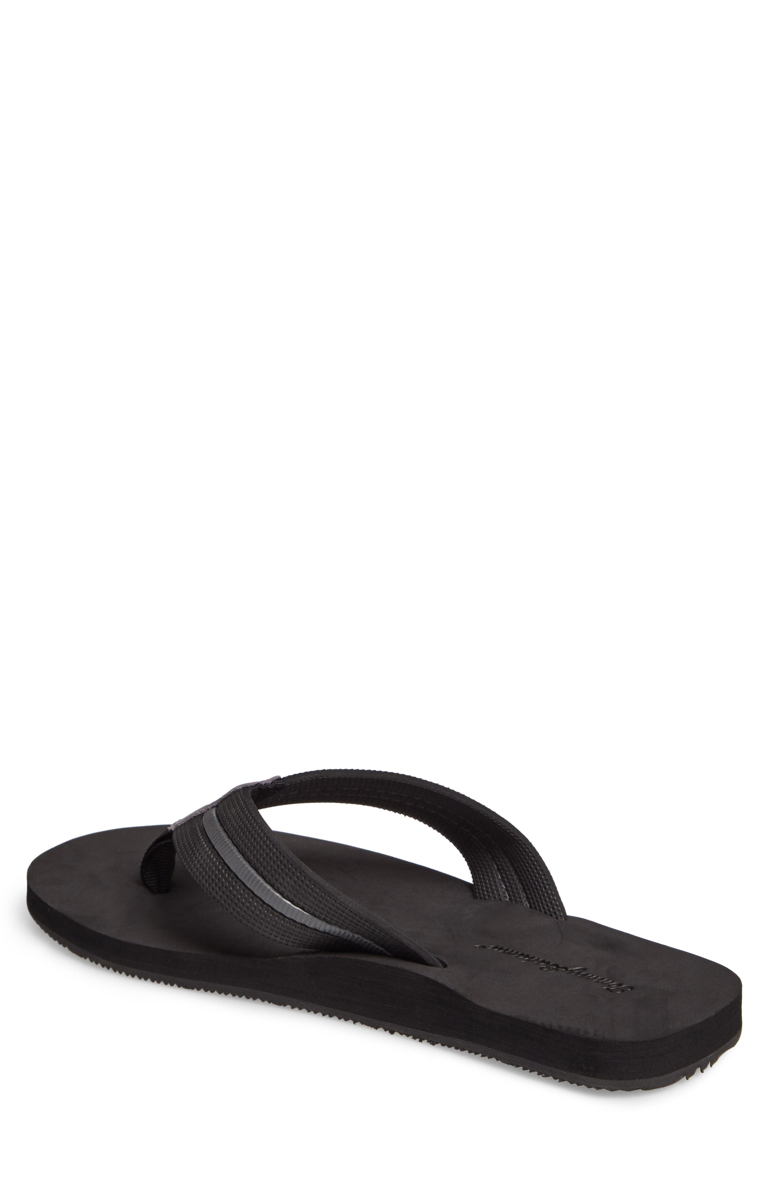 Taheeti Flip Flop,                             Alternate thumbnail 2, color,                             BLACK