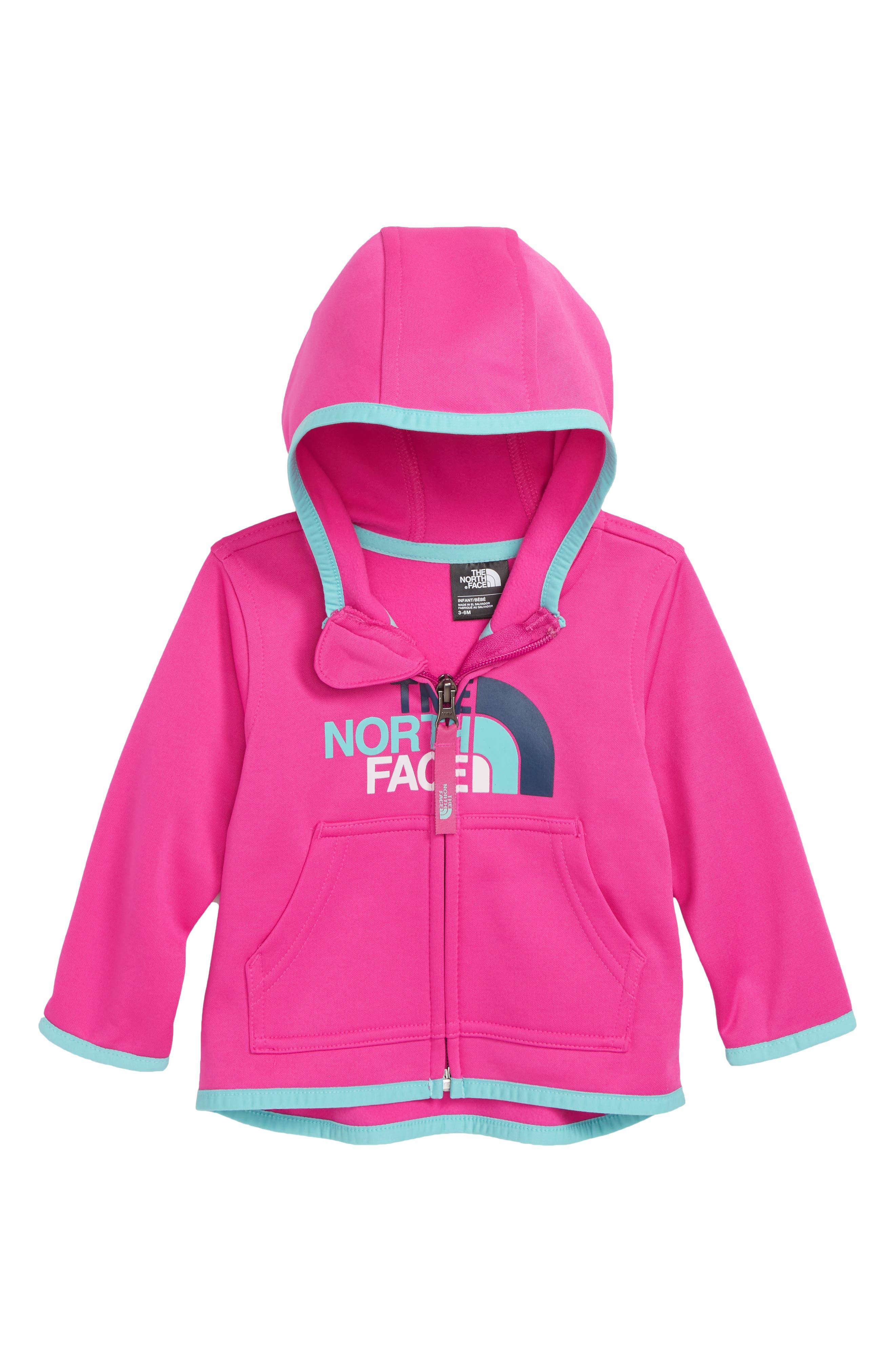 Surgent Full-Zip Hoodie,                         Main,                         color, AZALEA PINK