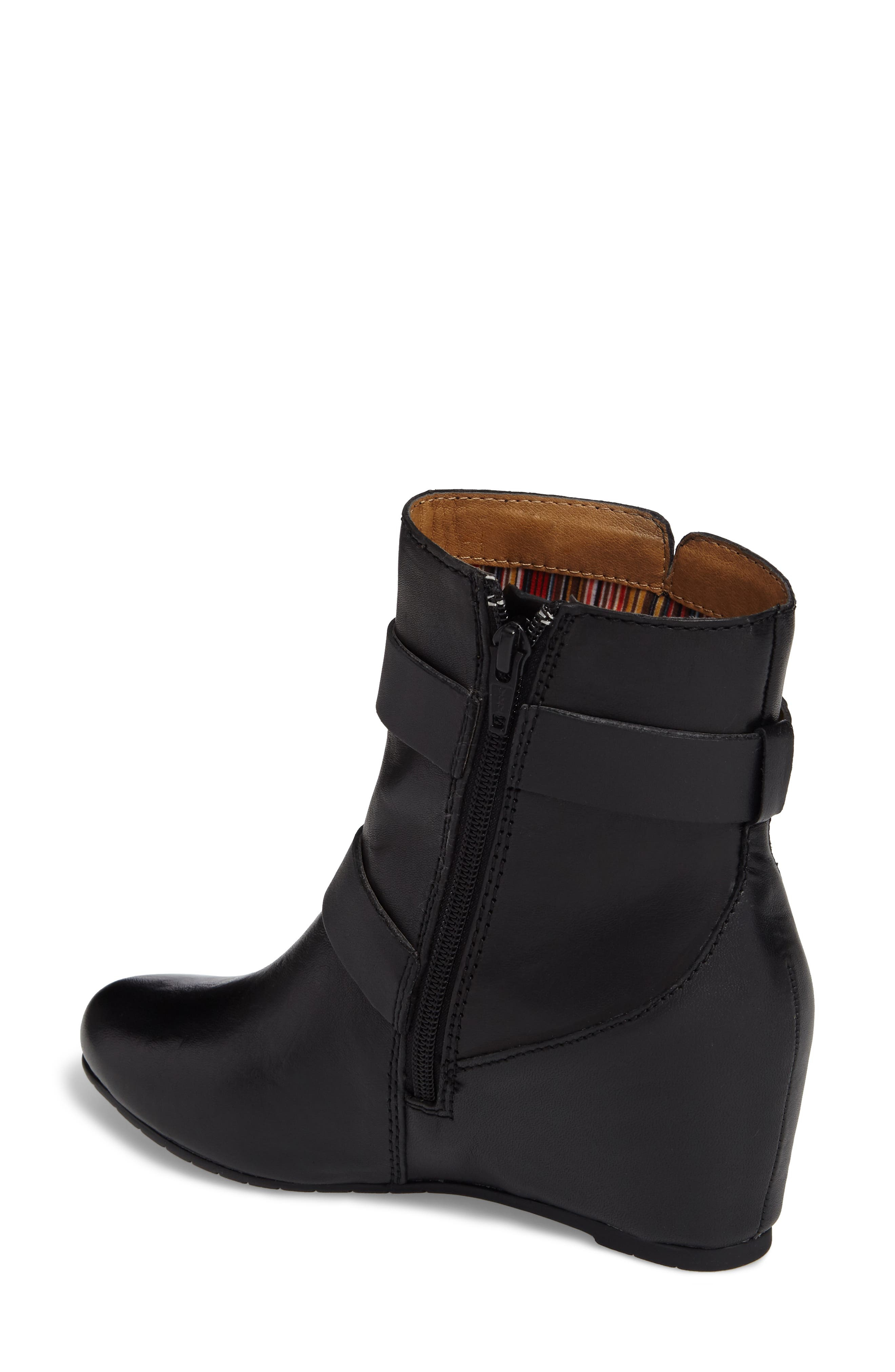 Ramika Wedge Bootie,                             Alternate thumbnail 2, color,                             001