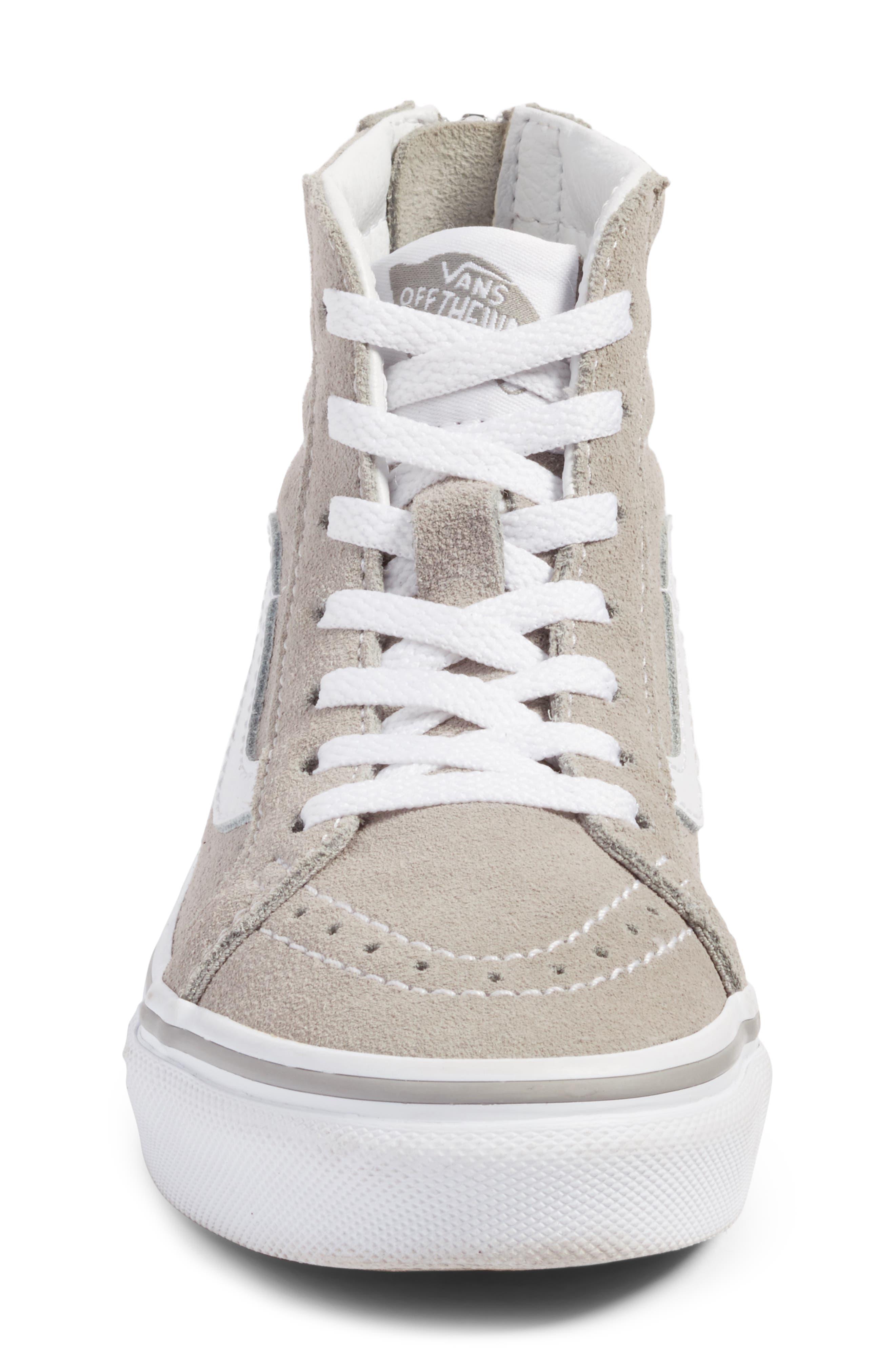 Sk8-Hi Zip Sneaker,                             Alternate thumbnail 4, color,                             050