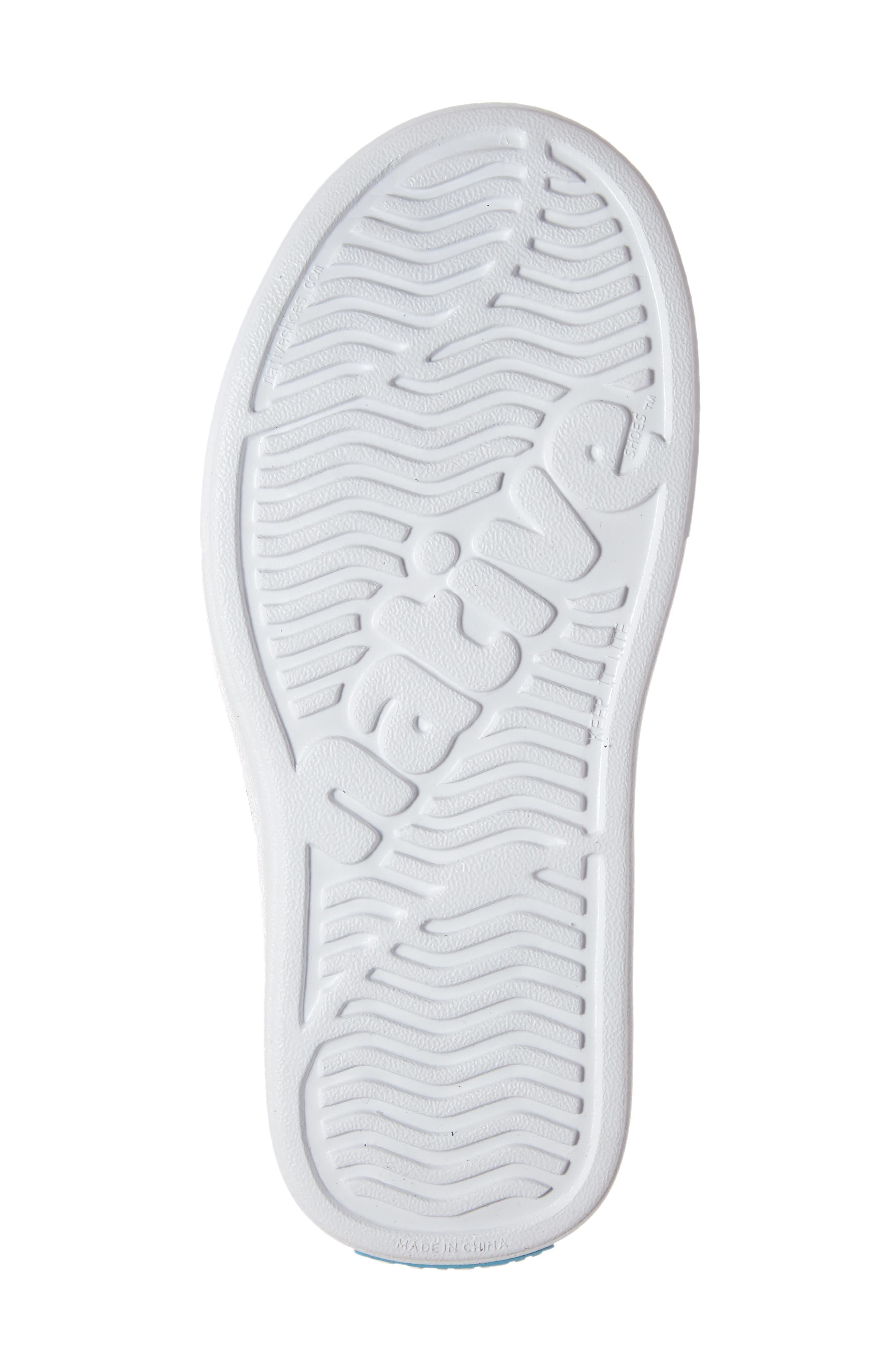 Miles Water Friendly Slip-On Vegan Sneaker,                             Alternate thumbnail 6, color,                             EVERGREEN/ SHELL WHITE