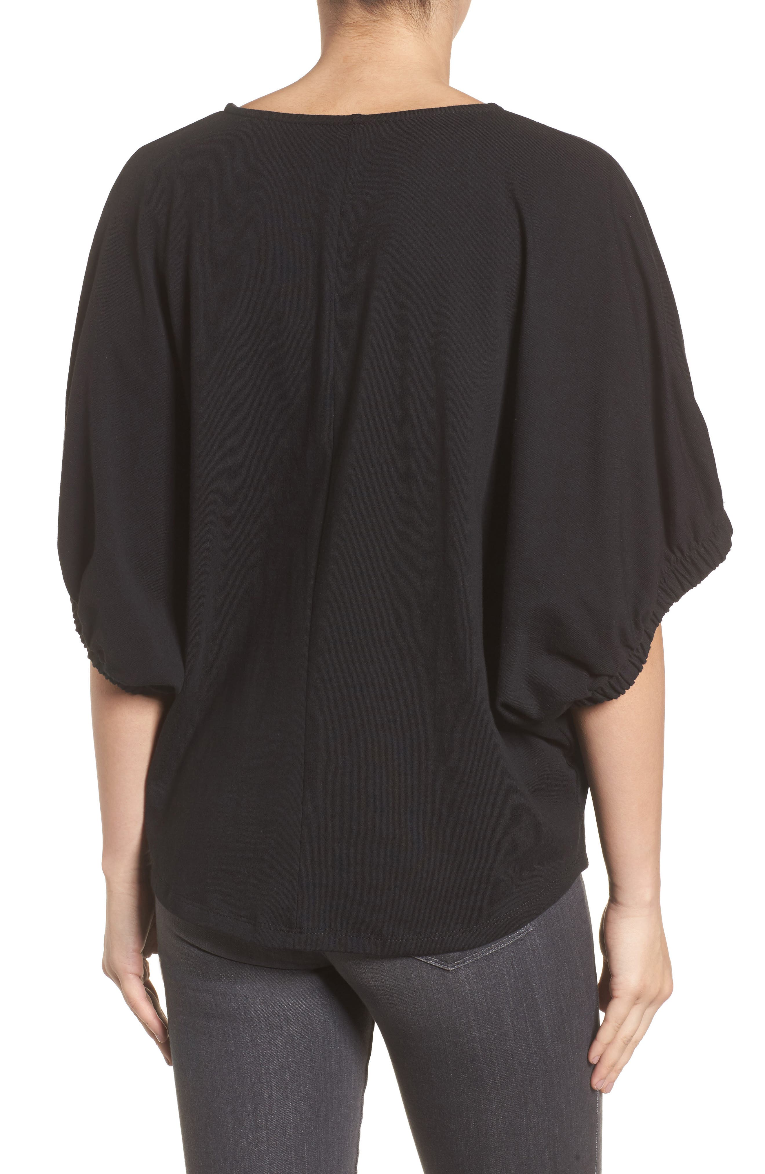 Dolman Sleeve Top,                             Alternate thumbnail 2, color,                             001