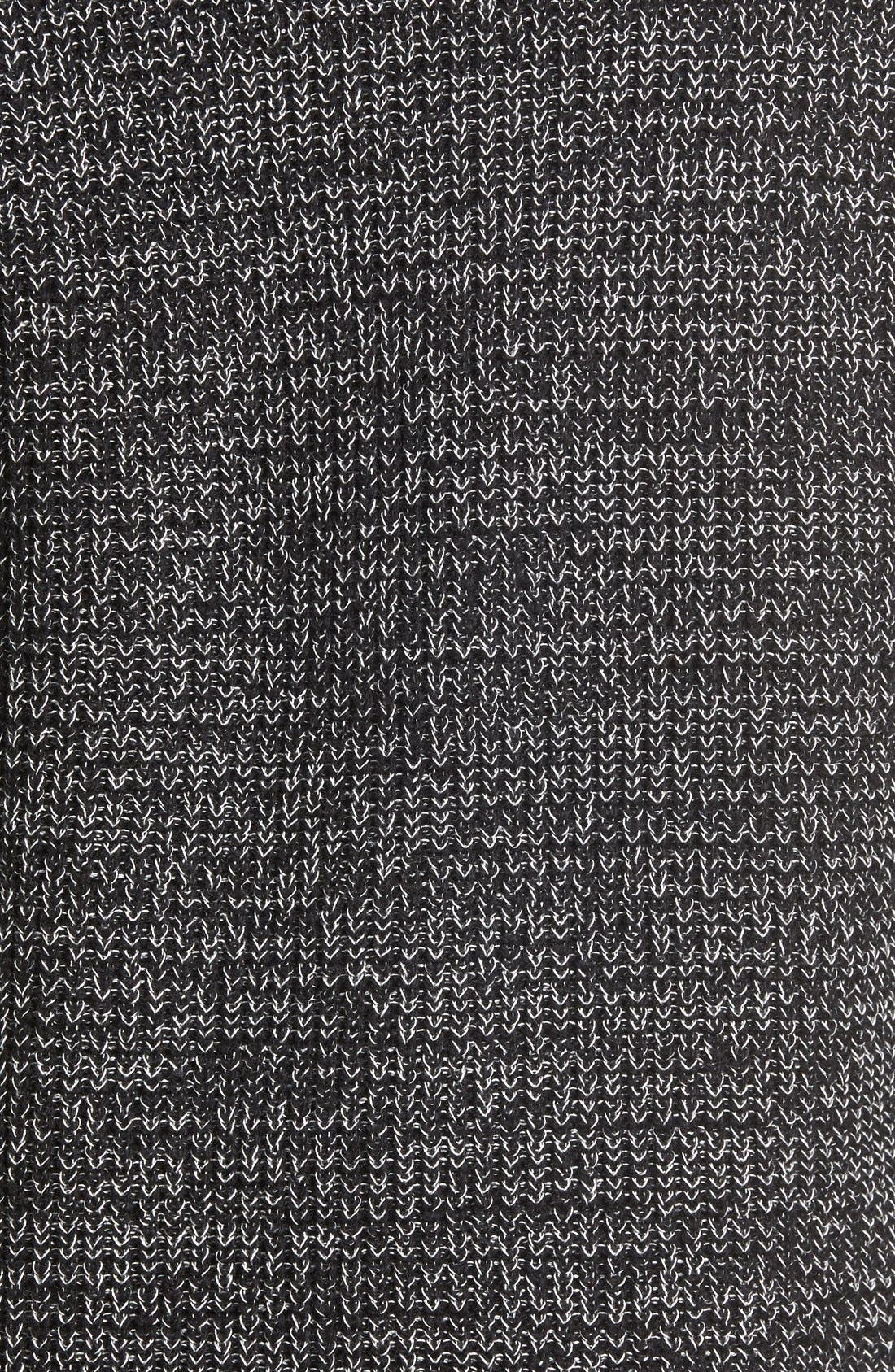 Textured Knit Pullover,                             Alternate thumbnail 2, color,                             001