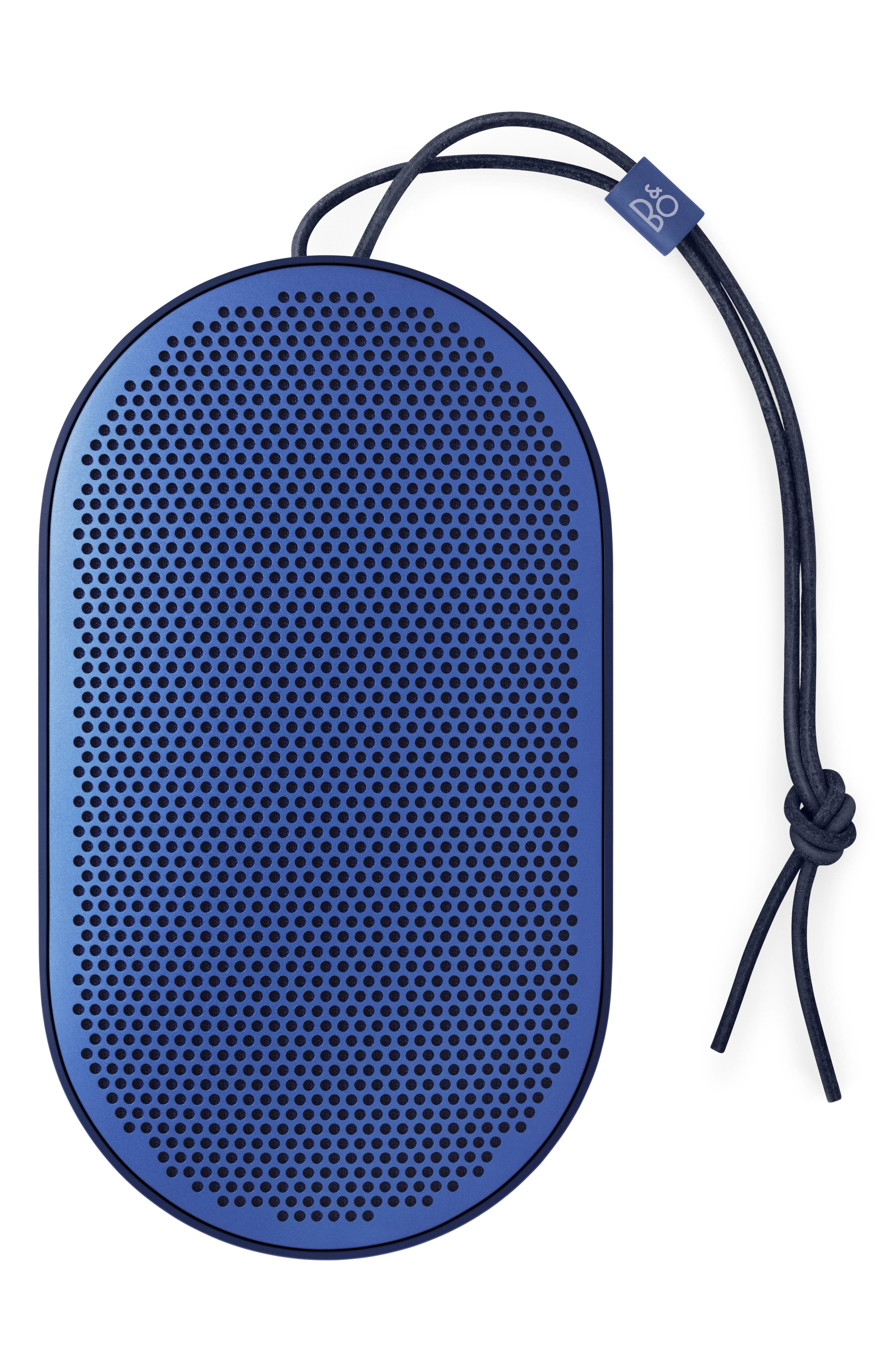 Beoplay P2 Portable Bluetooth<sup>®</sup> Speaker,                             Main thumbnail 1, color,                             BLUE