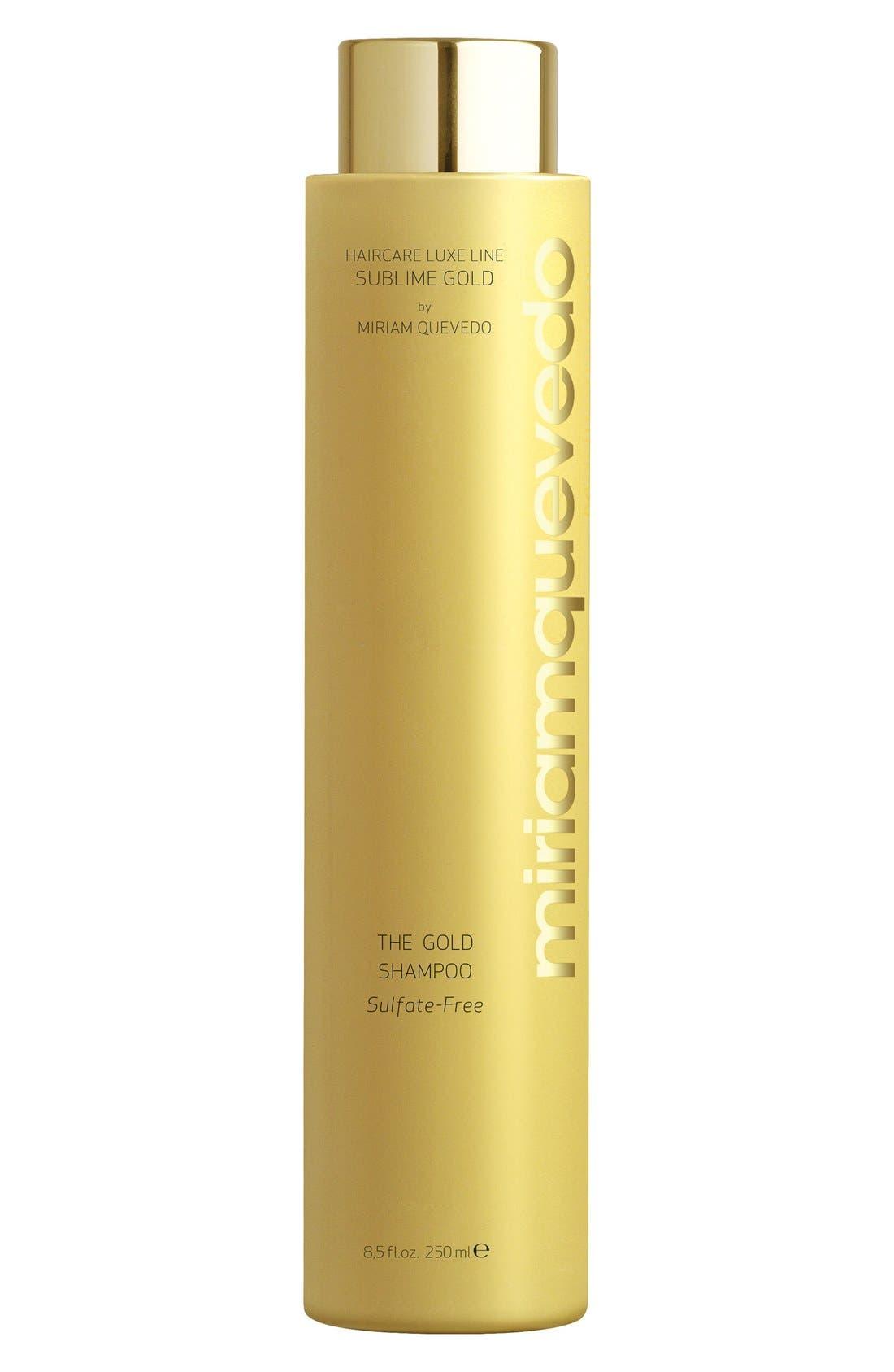 SPACE.NK.apothecary Miriam Quevedo Sublime Gold Shampoo,                             Main thumbnail 1, color,