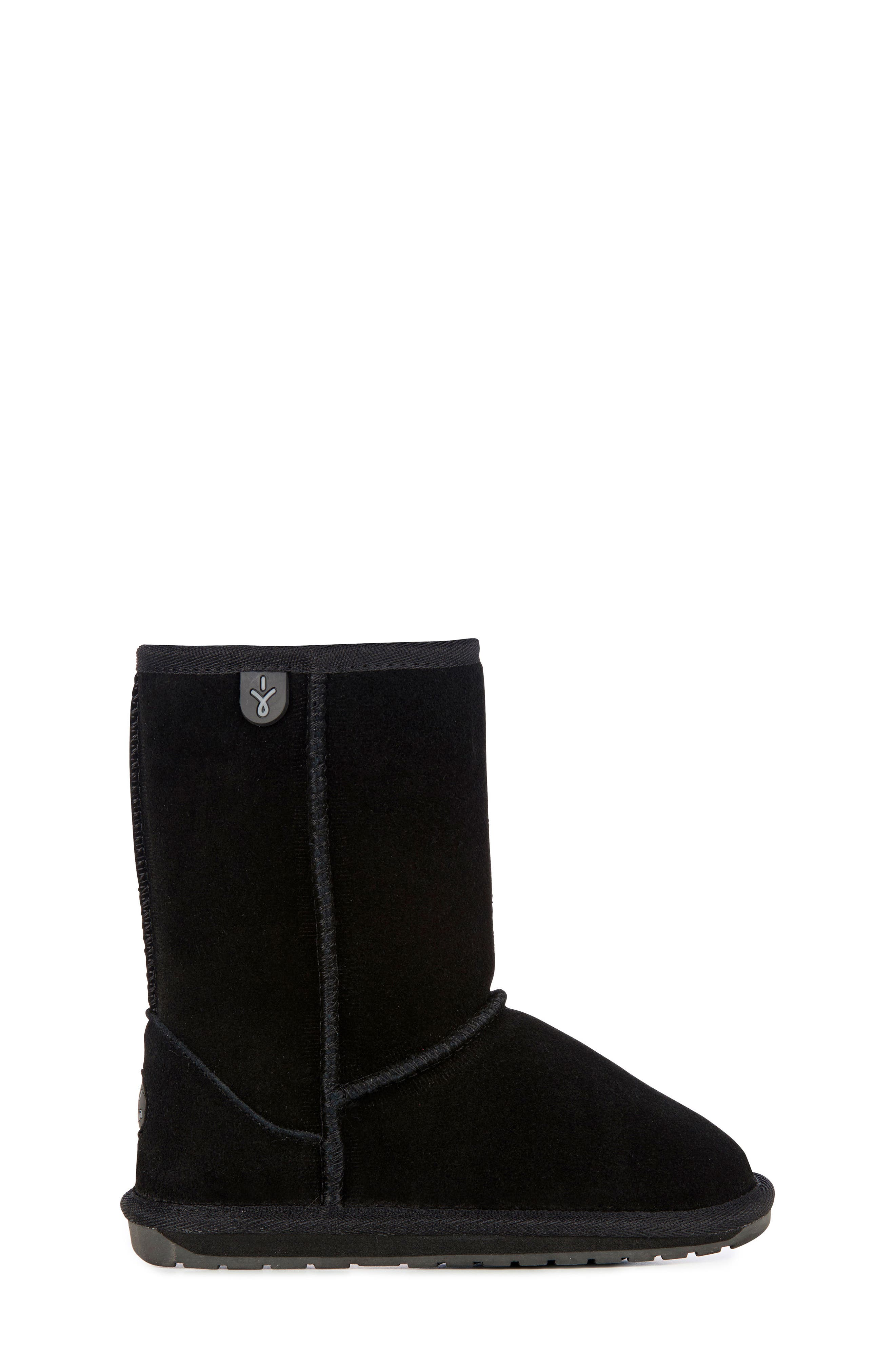 Wallaby Lo Boot,                             Alternate thumbnail 3, color,                             BLACK