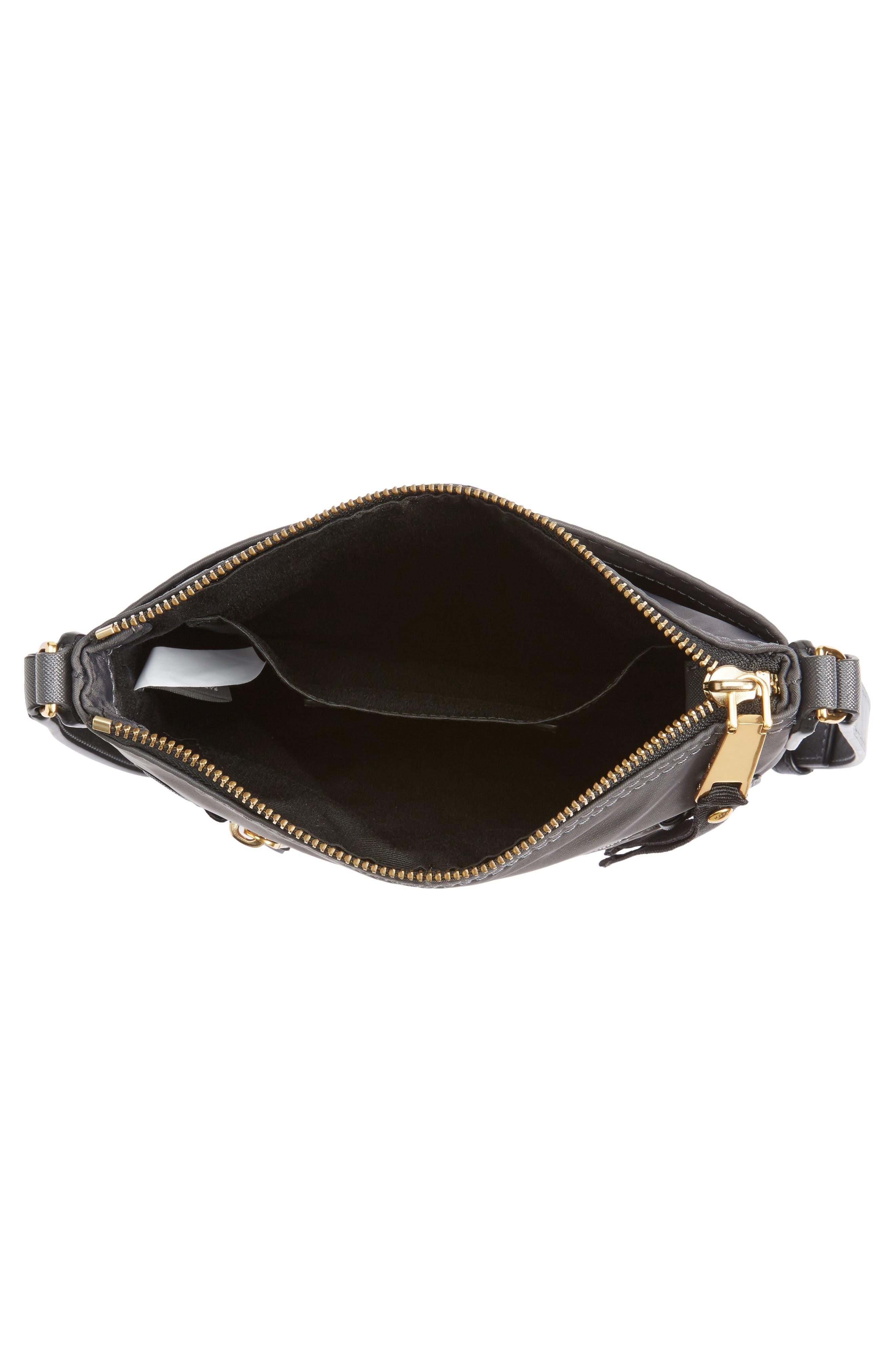 Trooper Nylon Crossbody Bag,                             Alternate thumbnail 4, color,                             022