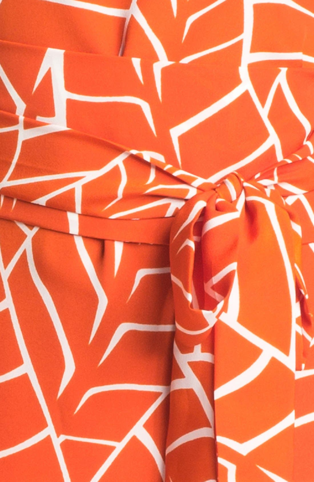 Sleeveless Print Dress,                             Alternate thumbnail 3, color,                             810