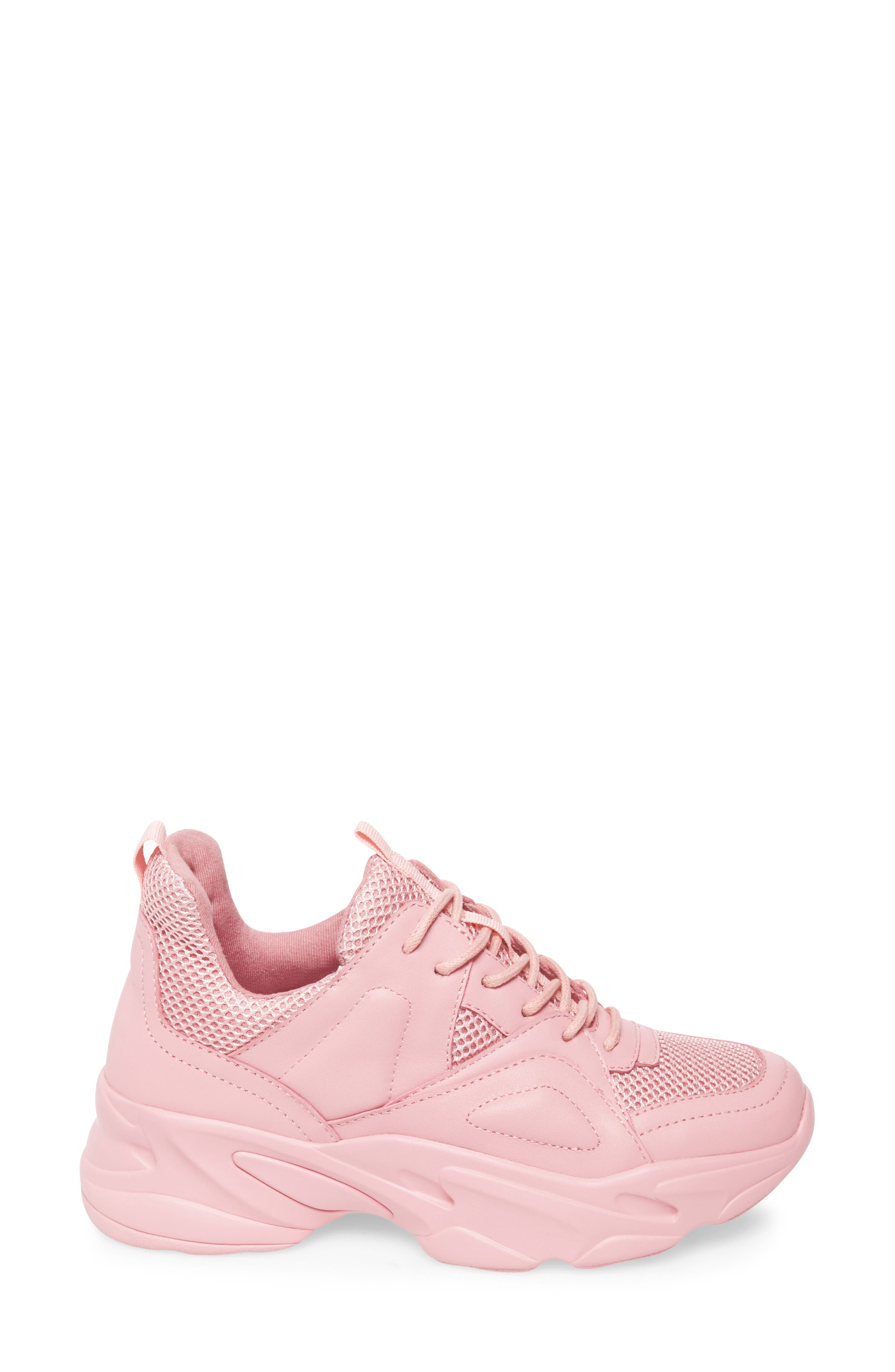 Movement Sneaker,                             Alternate thumbnail 3, color,                             PINK LEATHER