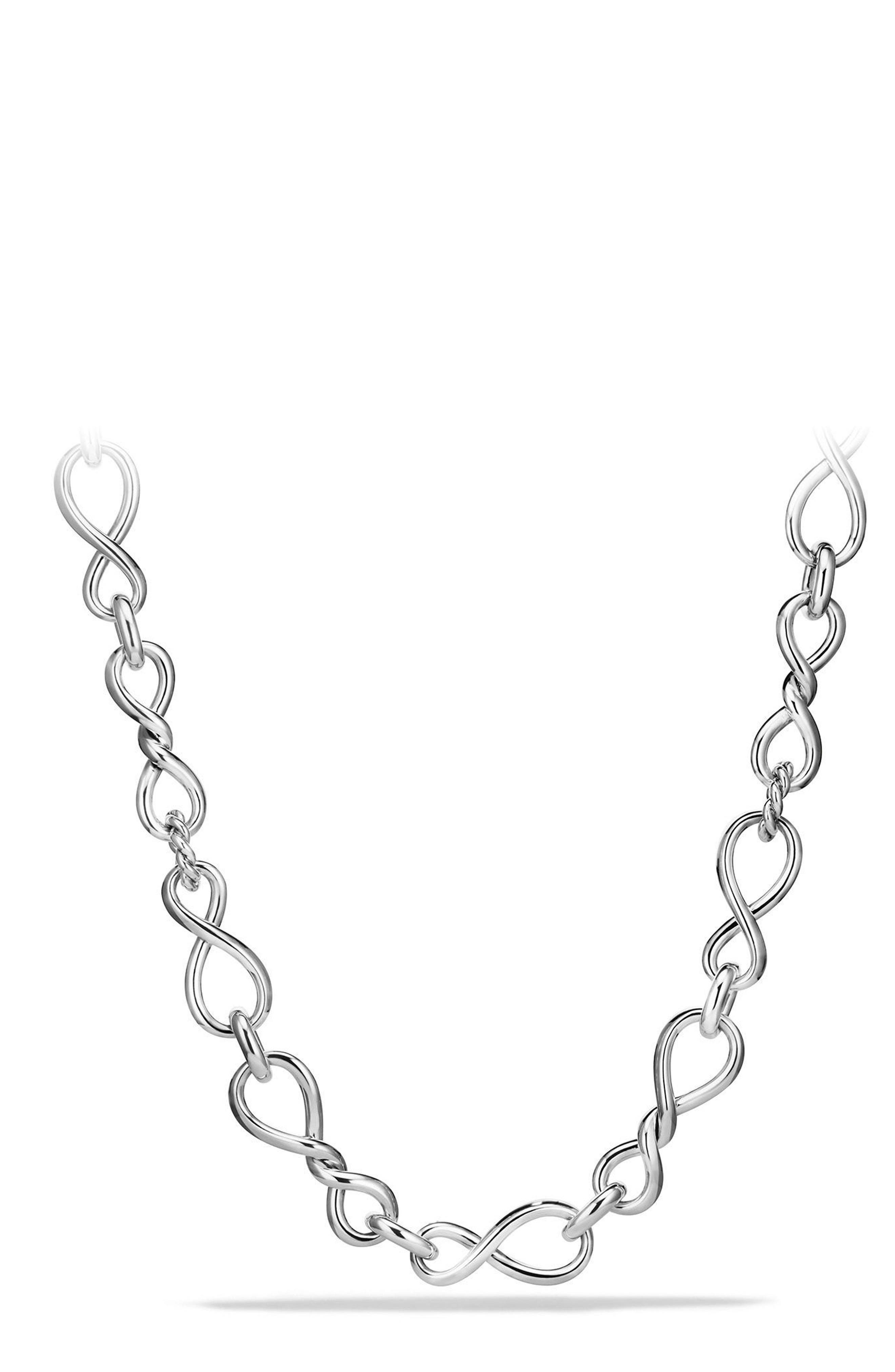Continuance Large Chain Necklace,                         Main,                         color, SILVER