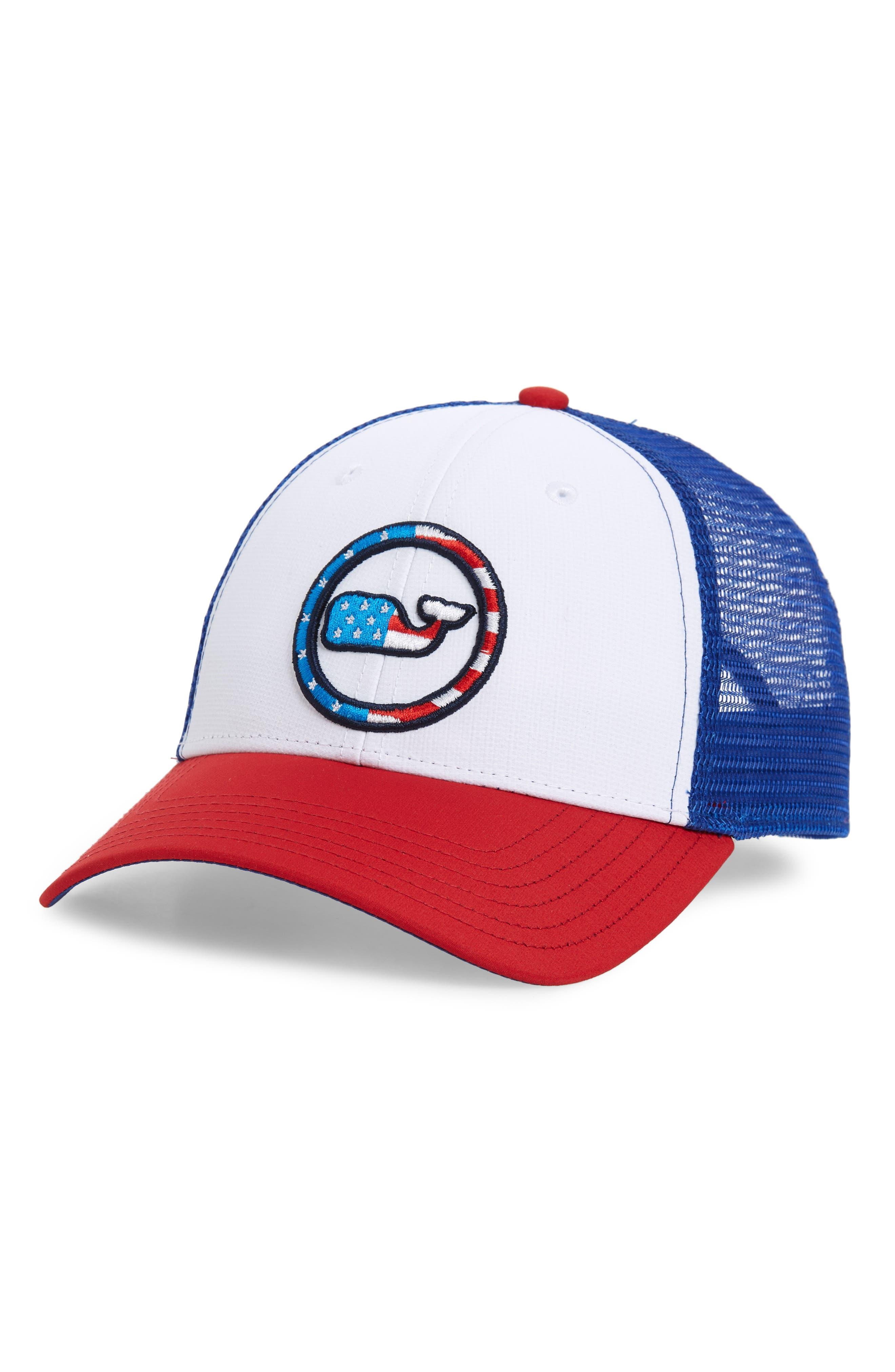 Low Pro Trucker Hat,                         Main,                         color, WHITE CAP