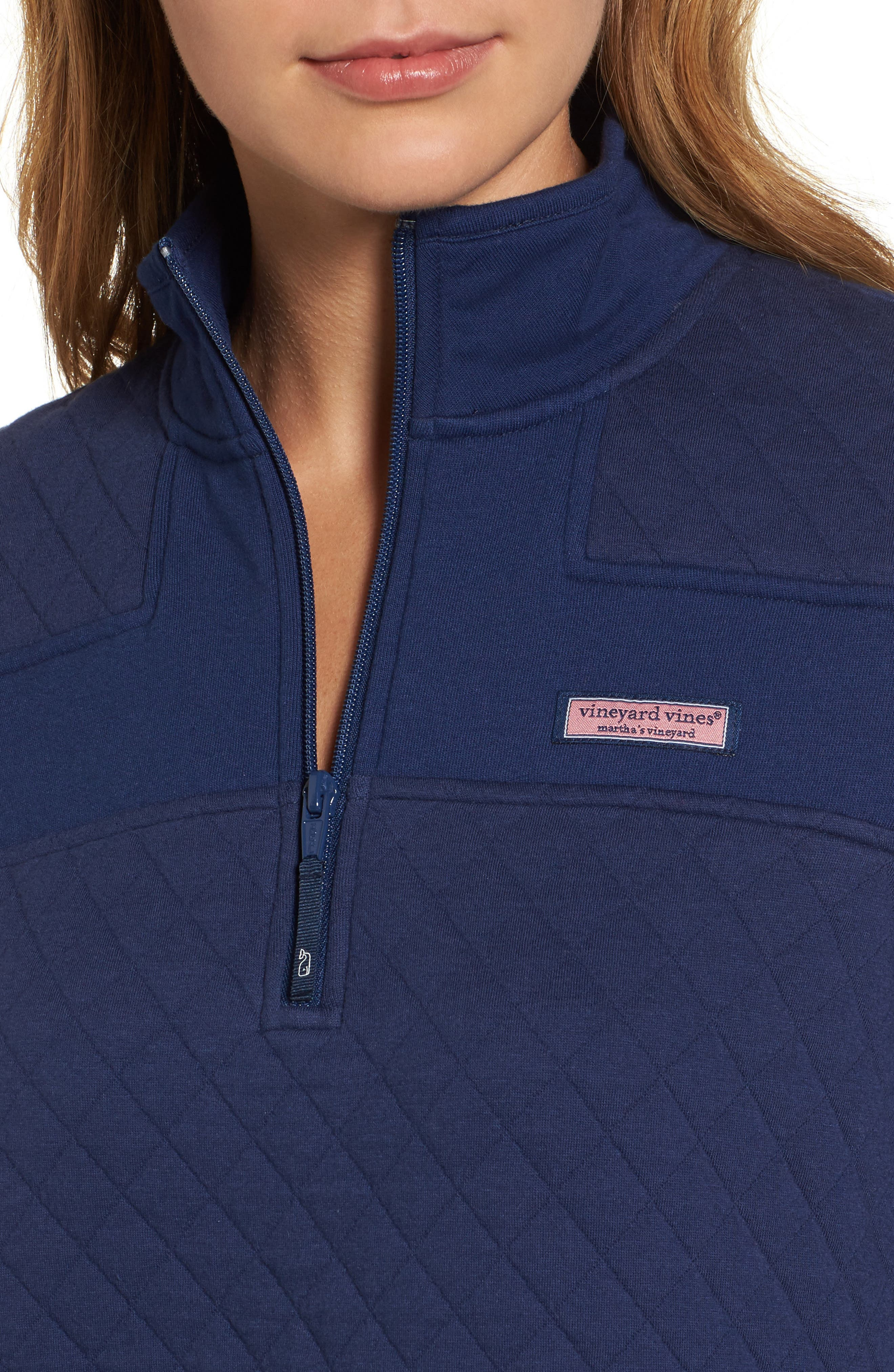 Shep Quilted Quarter Zip Pullover,                             Alternate thumbnail 12, color,