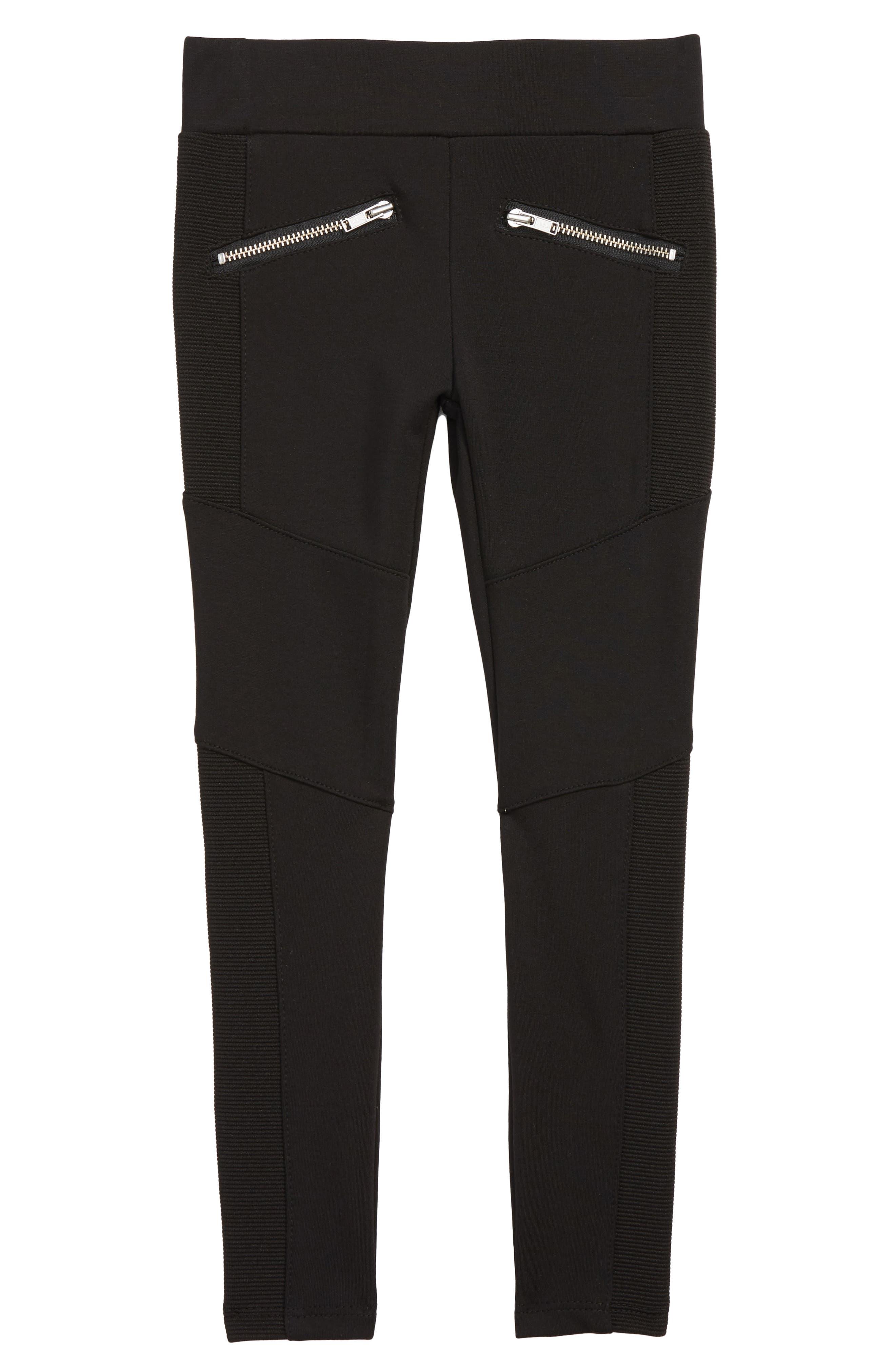 Toddler Girls Peek Emerson Elastic Waist Pants Size 3T  Black