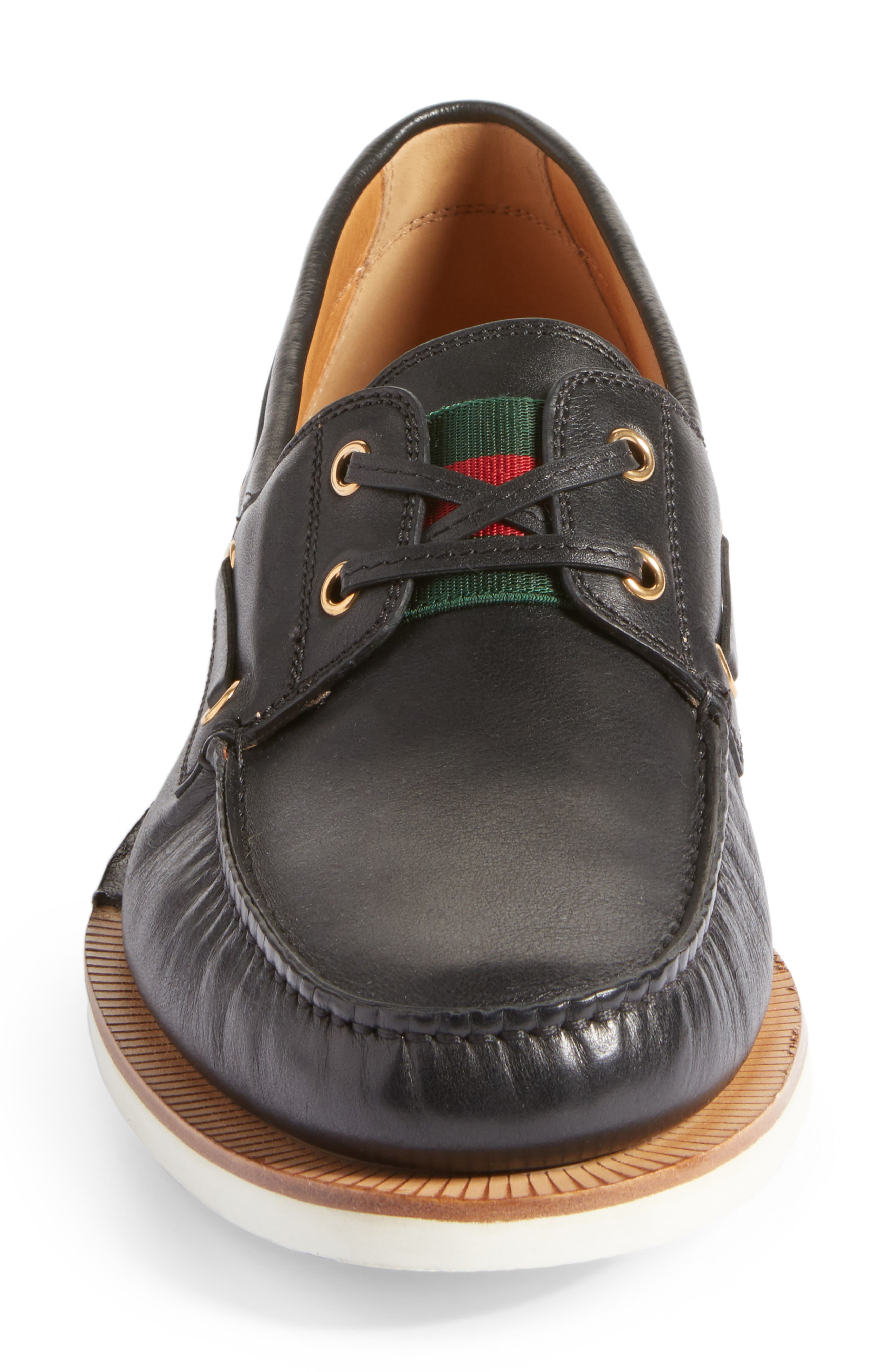 Delta Boat Loafer,                             Alternate thumbnail 4, color,                             009